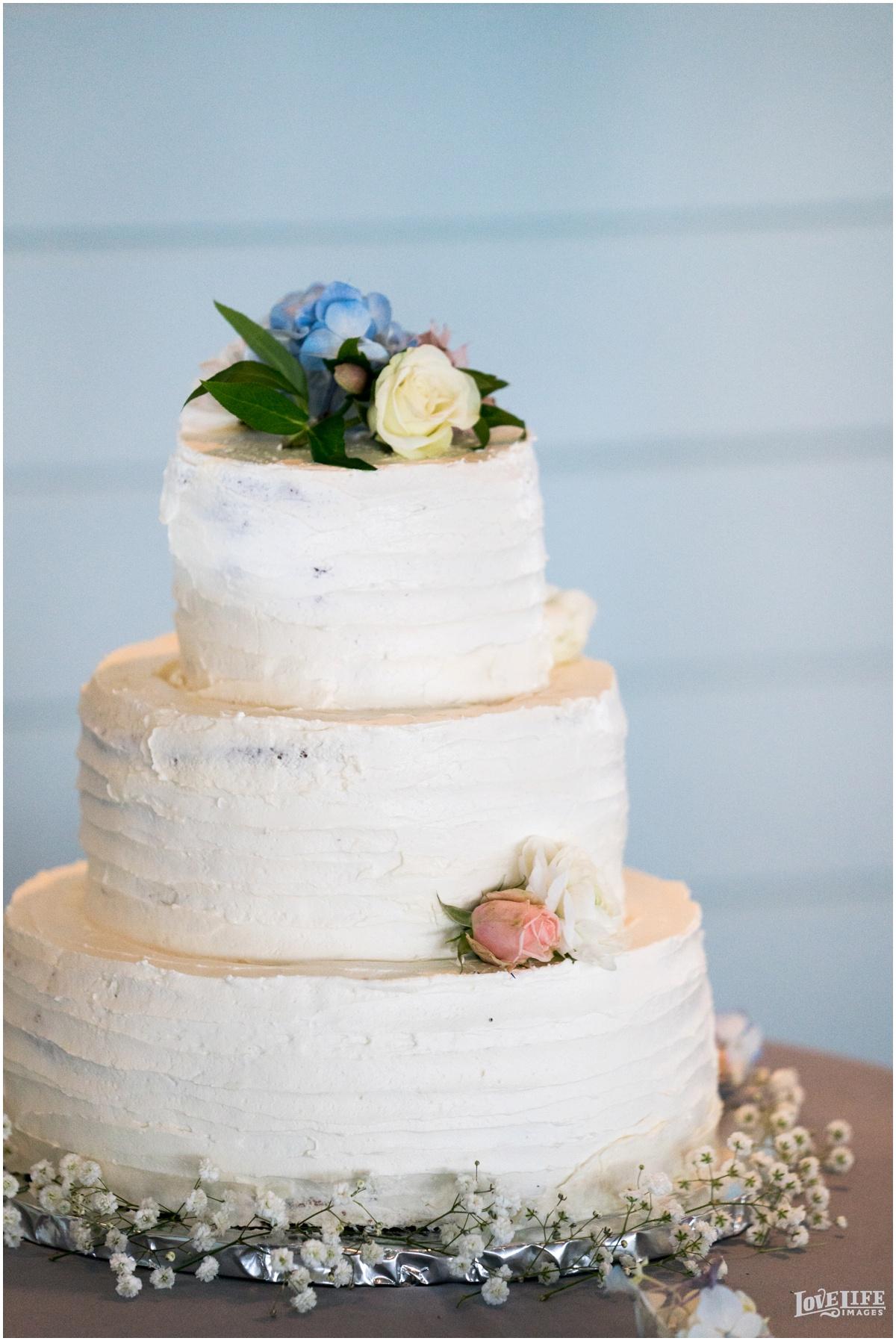 Silver Swan Bayside Wedding simple white tiered cake.jpg
