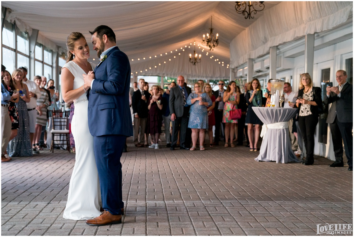 Silver Swan Bayside Wedding reception first dance.jpg