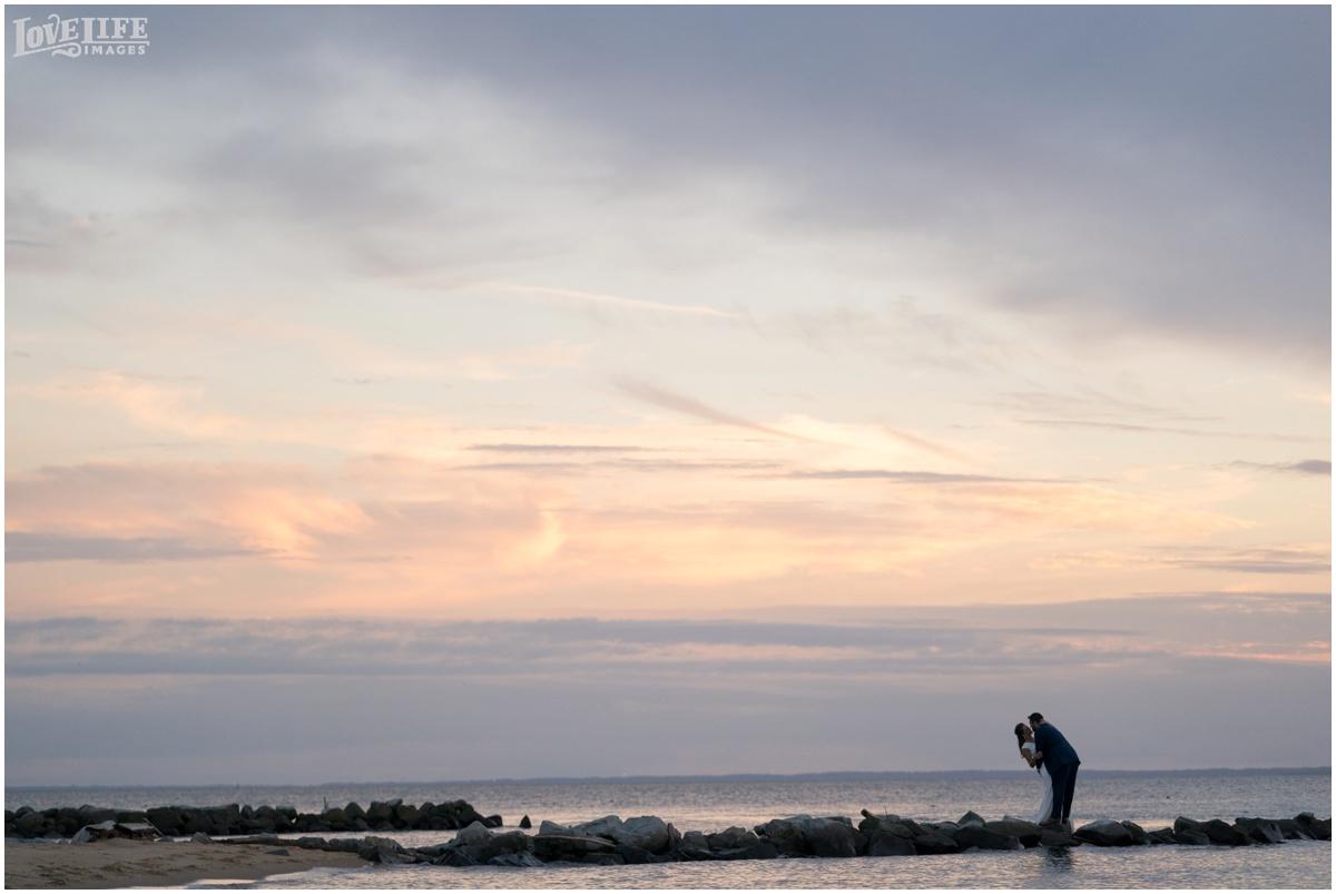 Silver Swan Bayside Wedding sunset jetty portrait.jpg