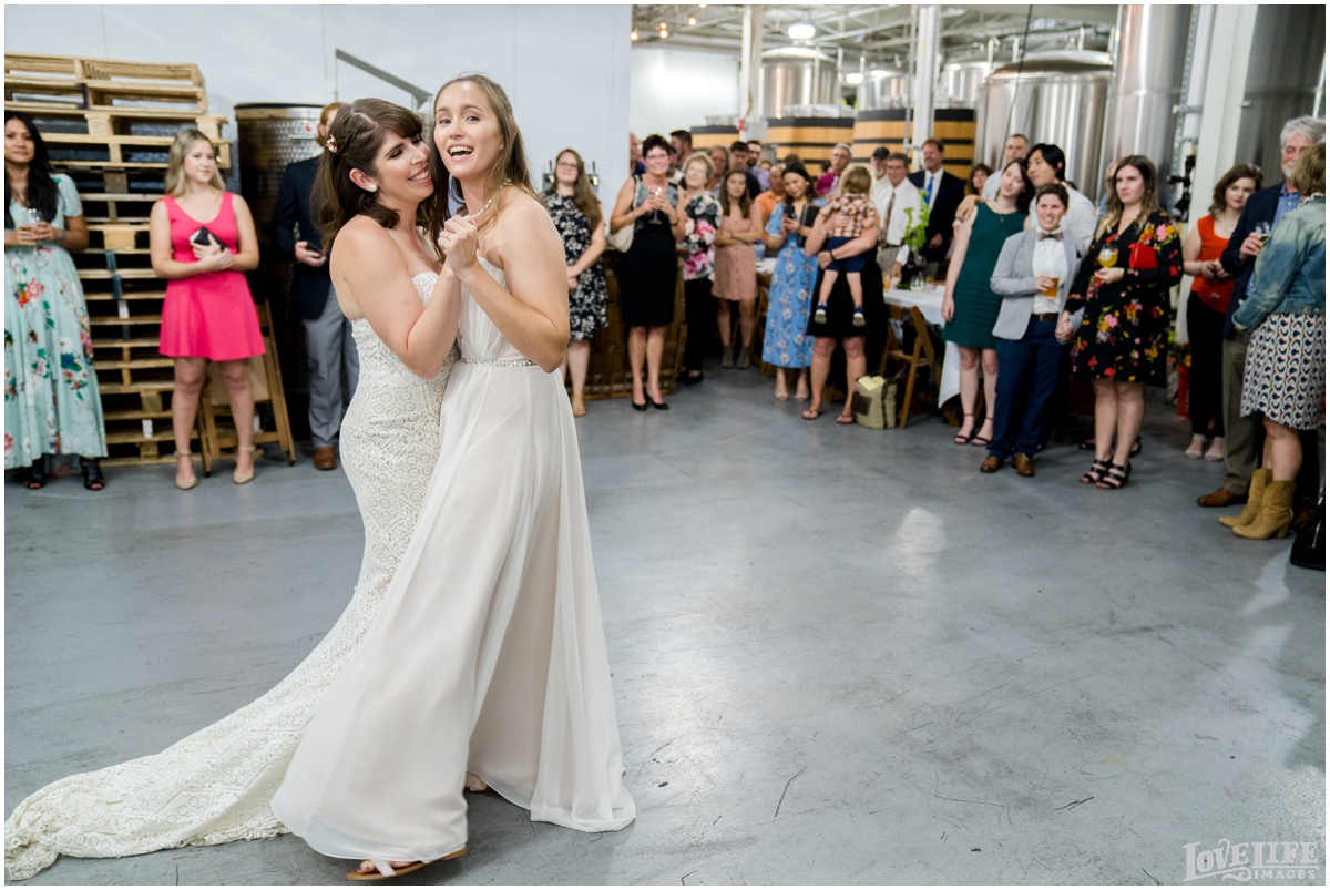 Same Sex Brewery DC Wedding first dance.jpg