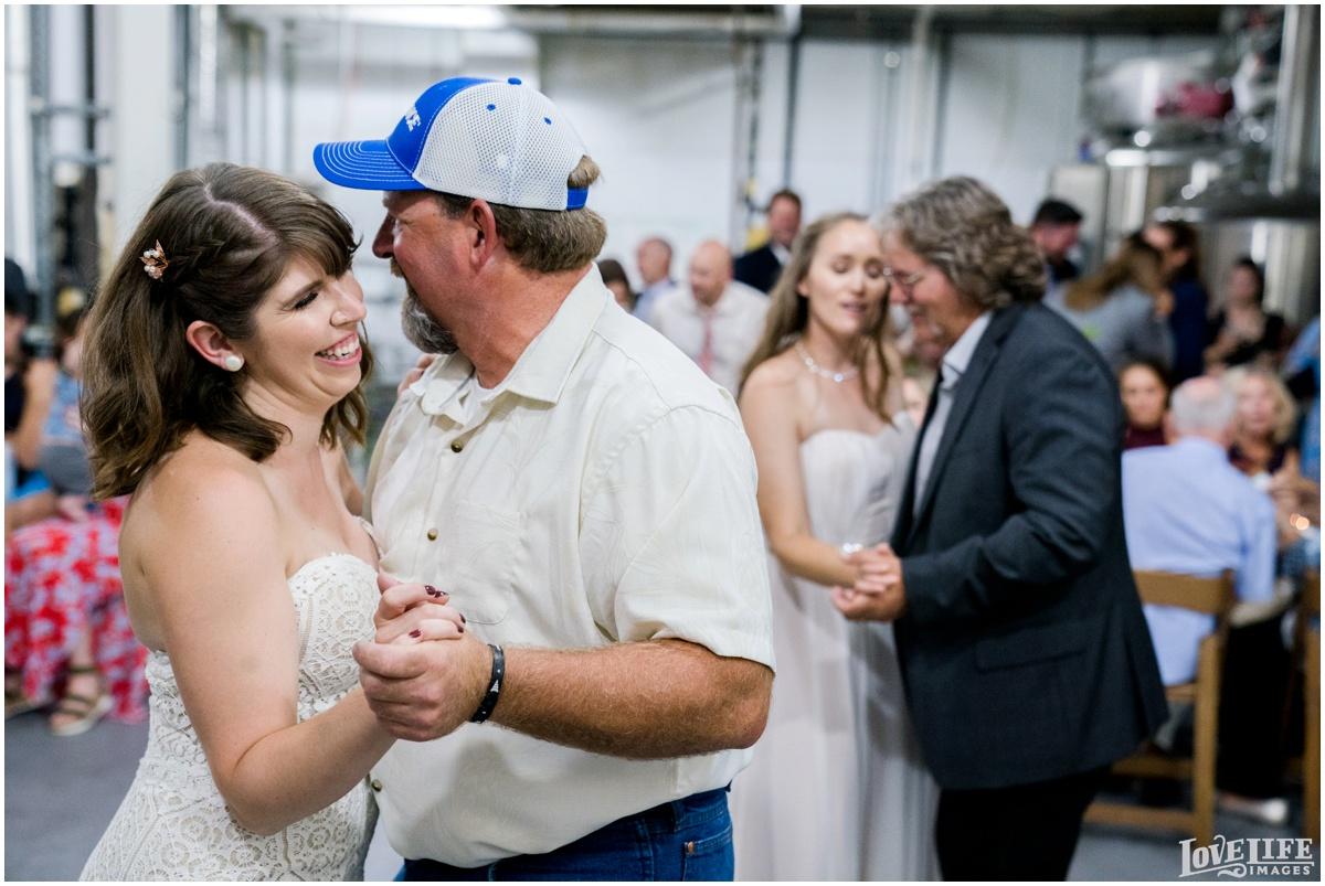 Same Sex Brewery DC Wedding father daughter dance.jpg