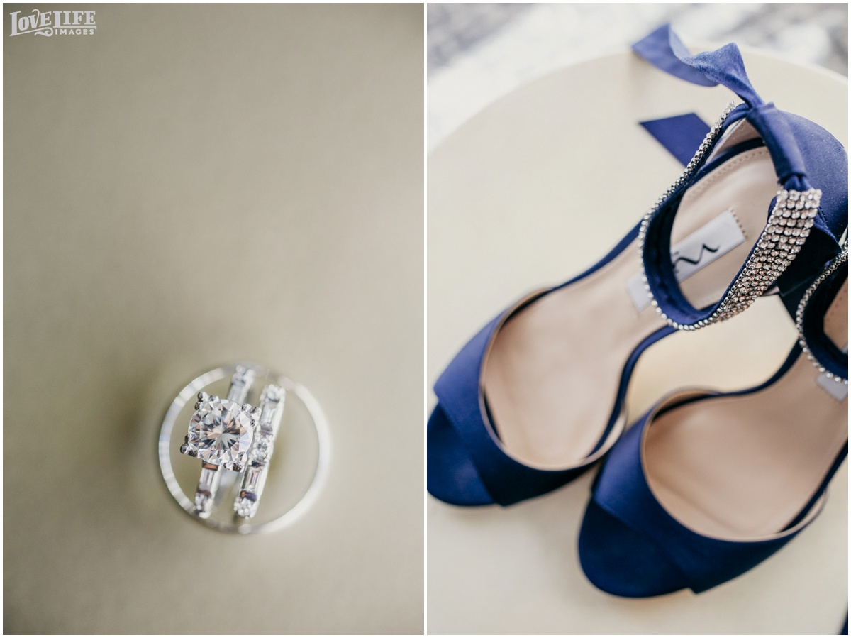 Fairmont DC Wedding rings and navy heels.jpg