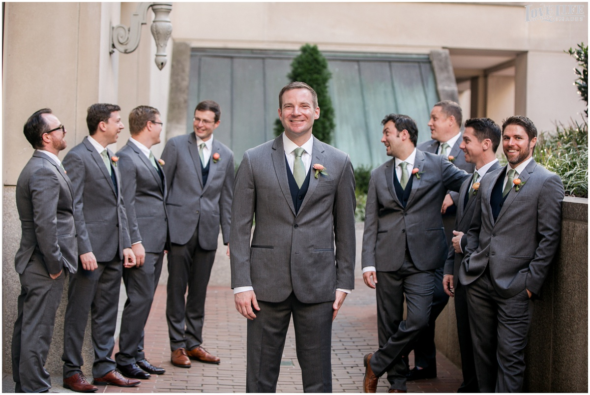 Fairmont DC Wedding groomsmen in grey and navy.jpg
