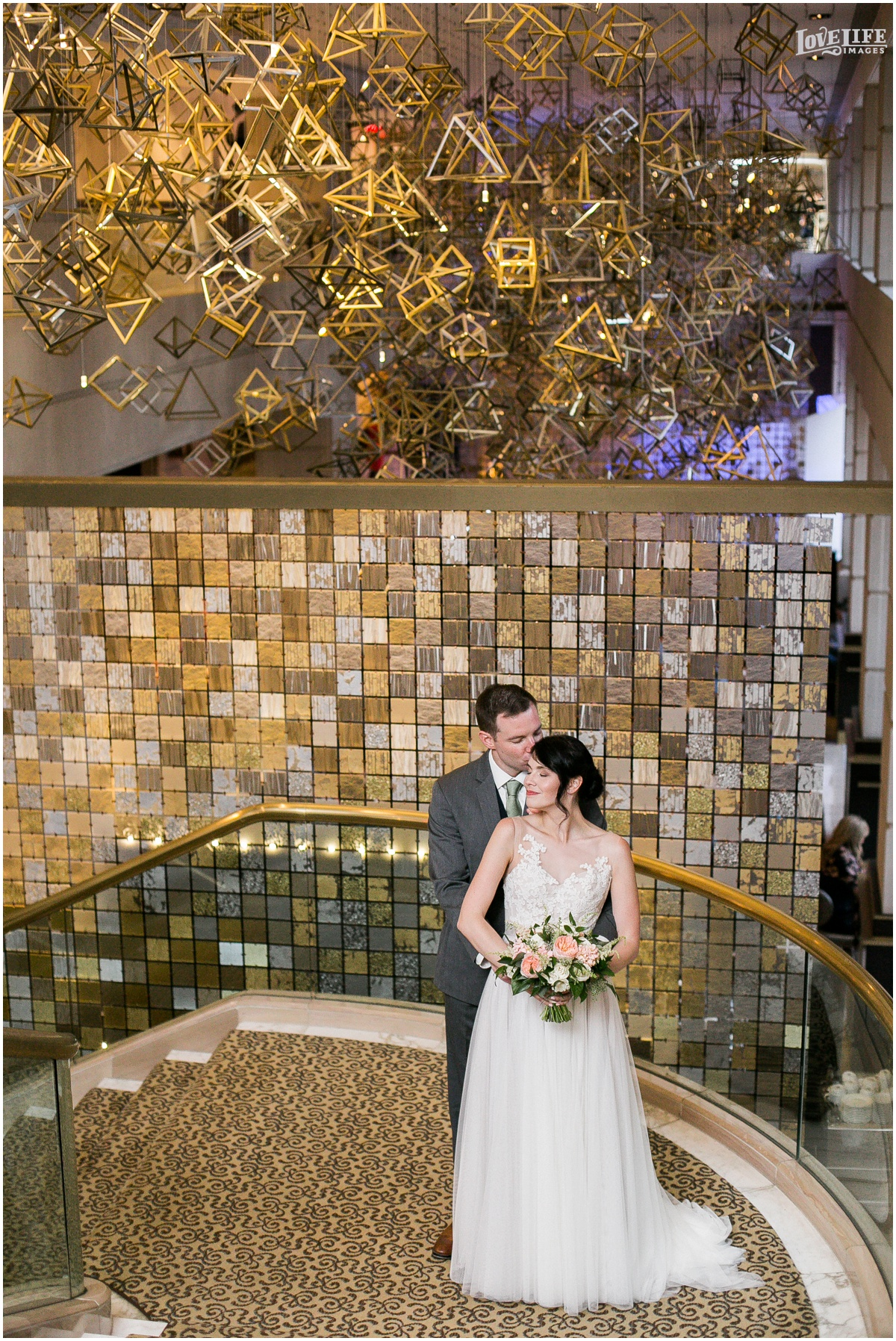 Fairmont DC Wedding portrait with sculpture.jpg