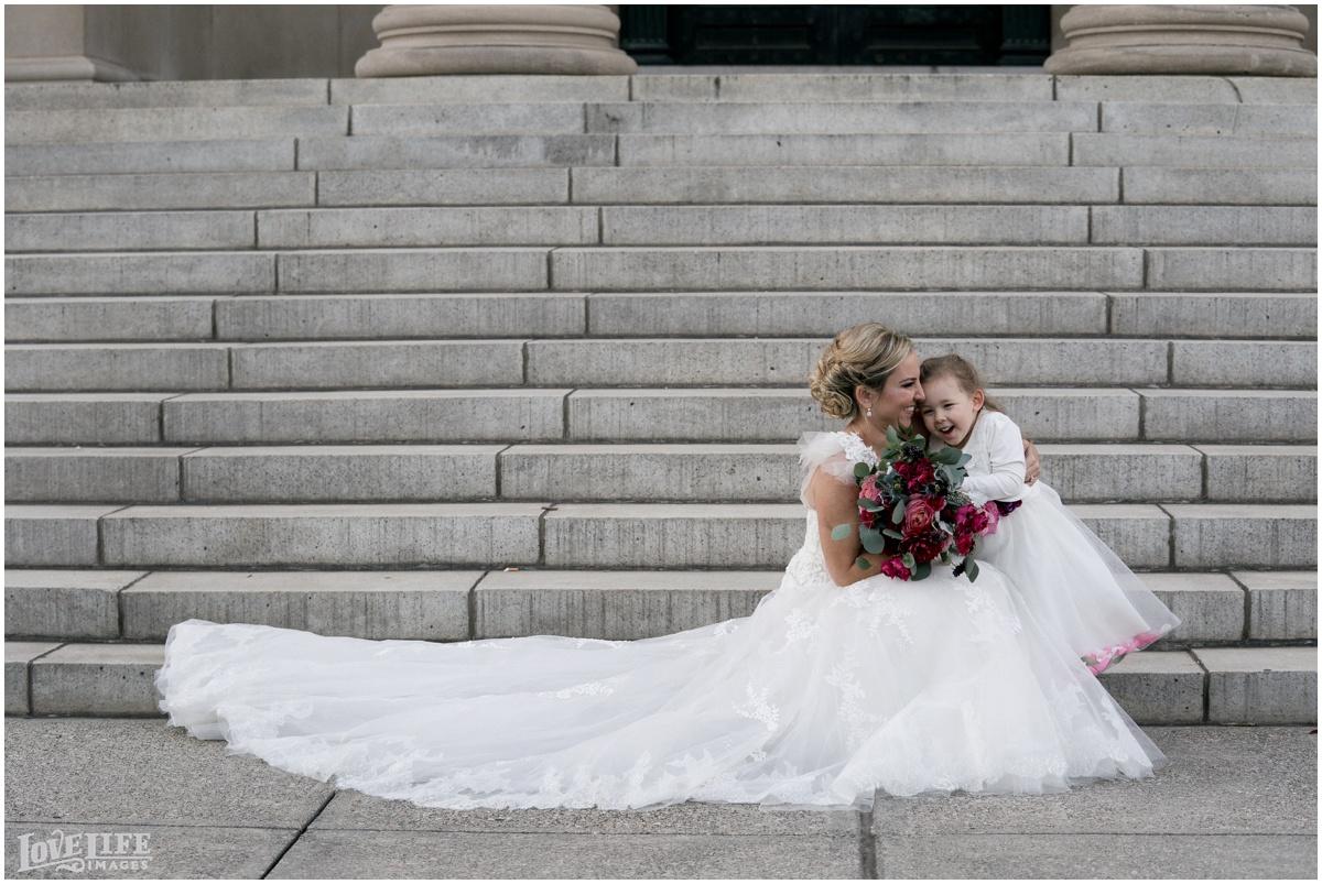 Baltimore Museum of Art Wedding bride with daughter.jpg