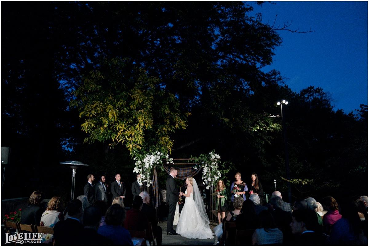 Baltimore Museum of Art Wedding evening garden ceremony.jpg