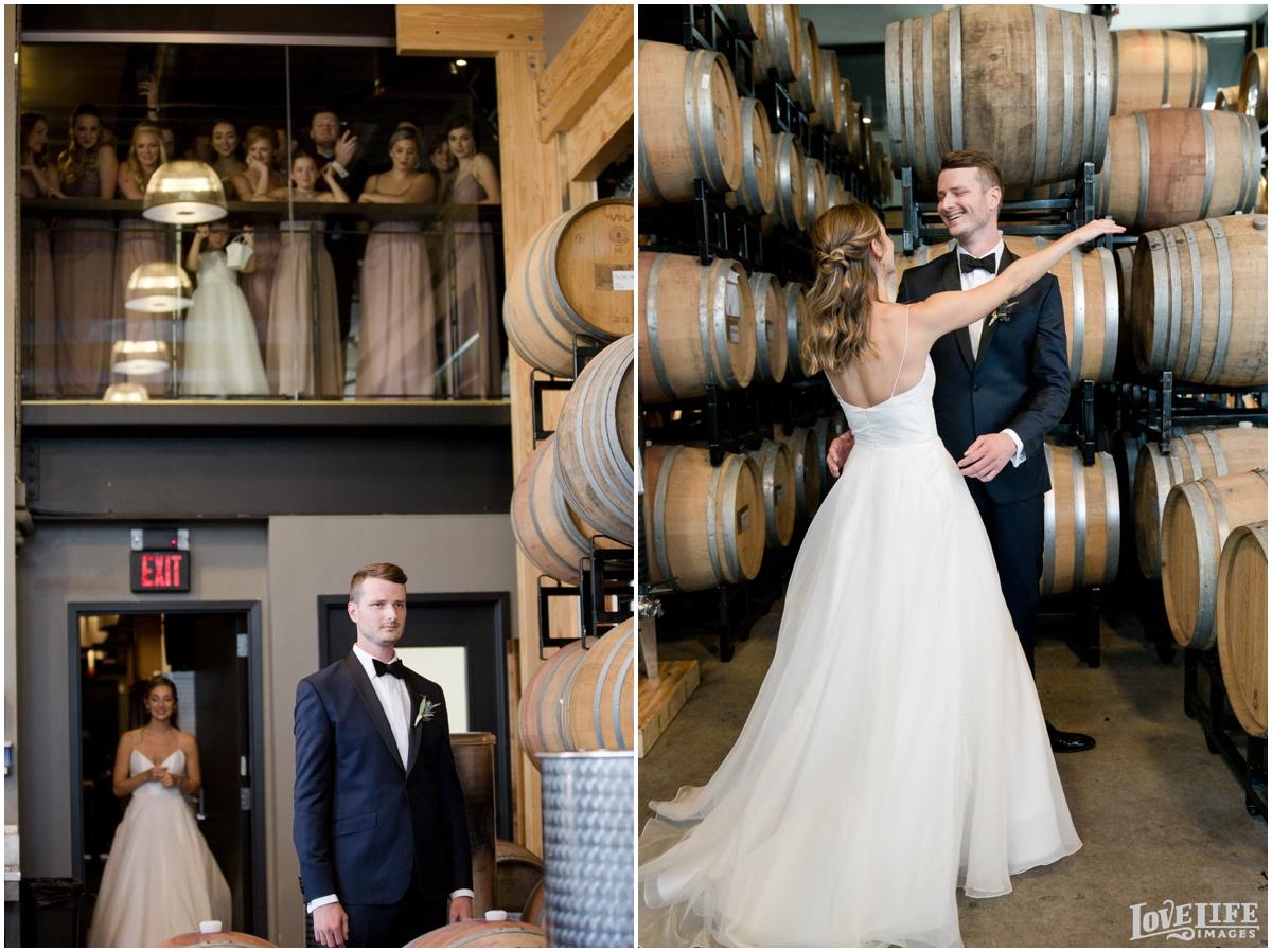 District Winery DC Wedding barrel room first look.jpg