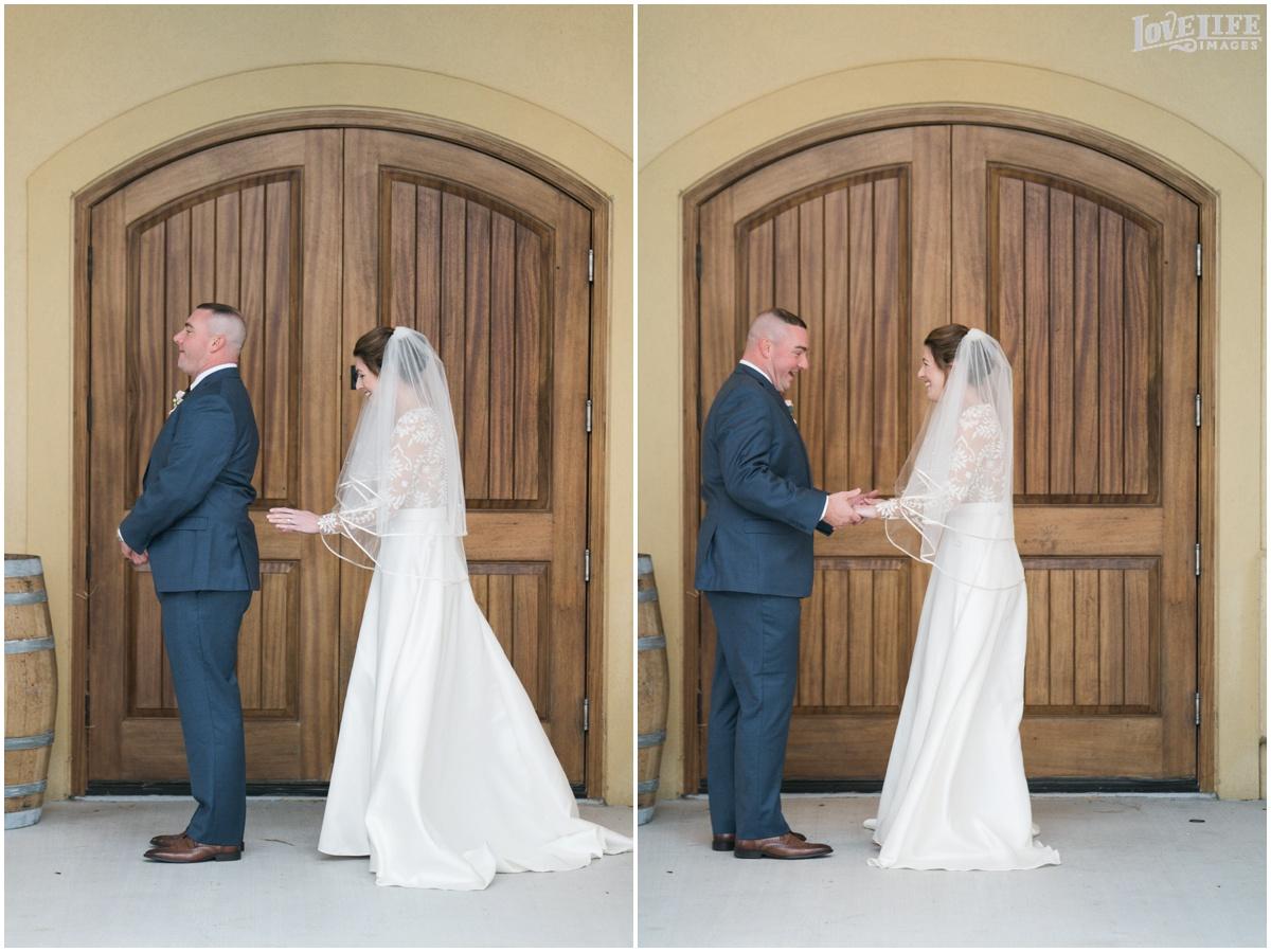 Breaux Vineyards VA Wedding first look.jpg
