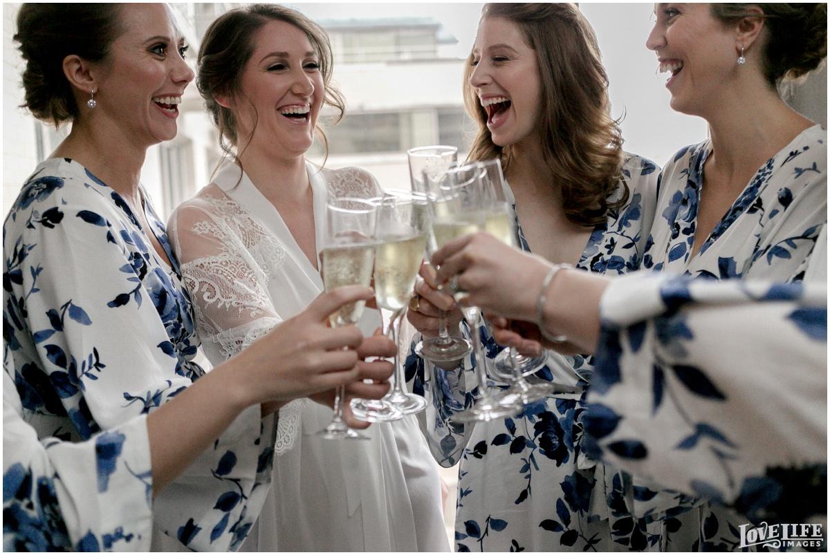 Fairmont DC Wedding bridesmaid champagne toast.jpg
