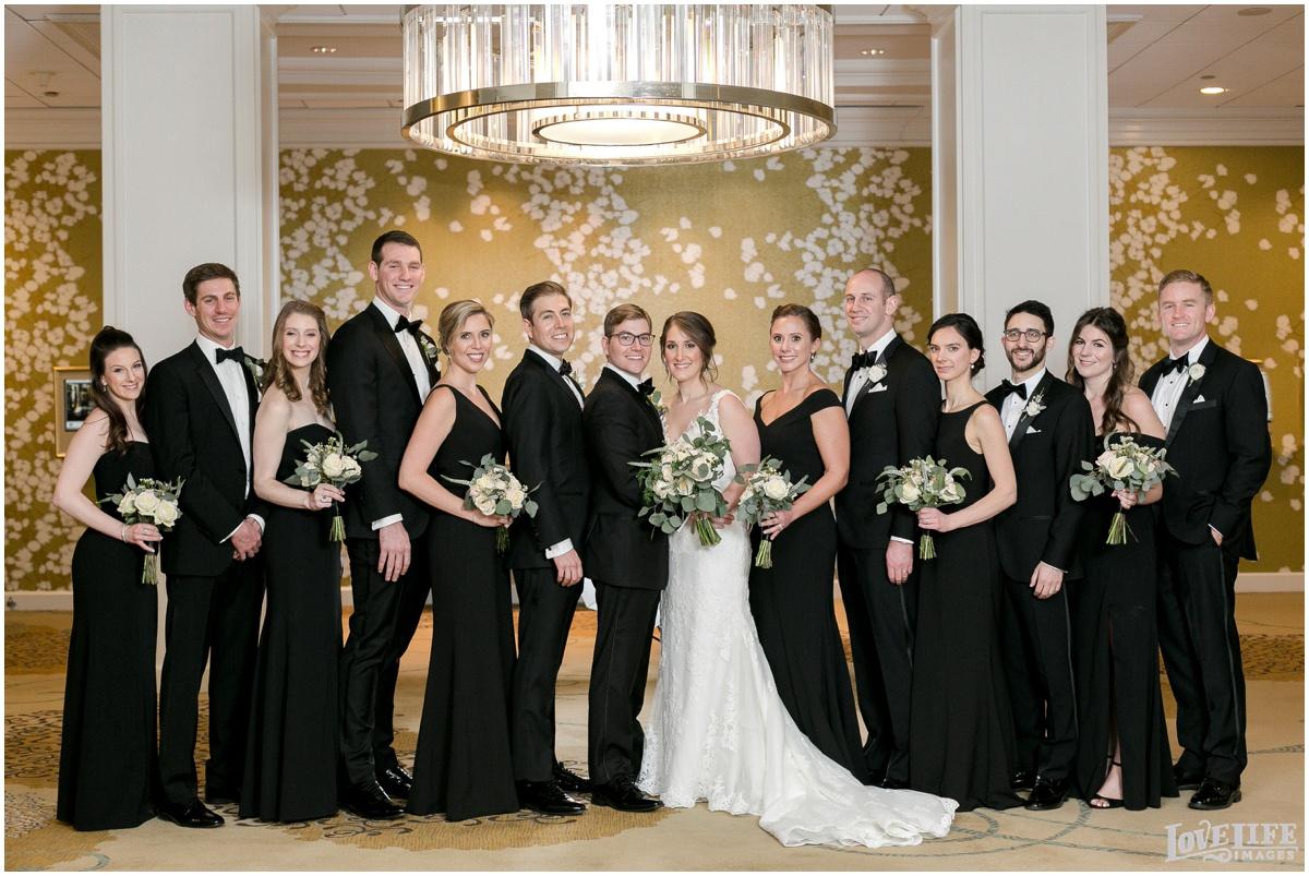 Fairmont DC Wedding bridal party photo.jpg
