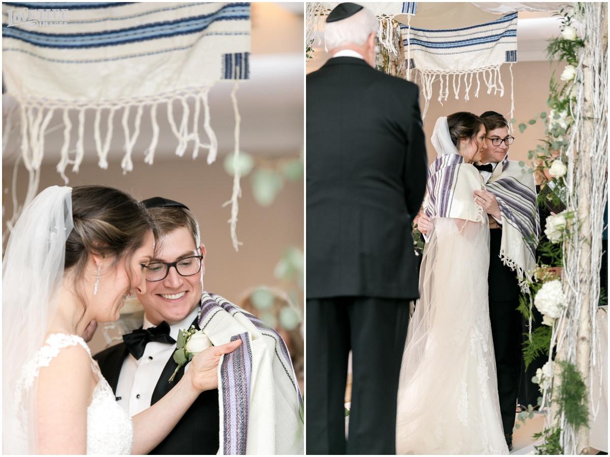 Fairmont DC Wedding ceremony Tallit.jpg