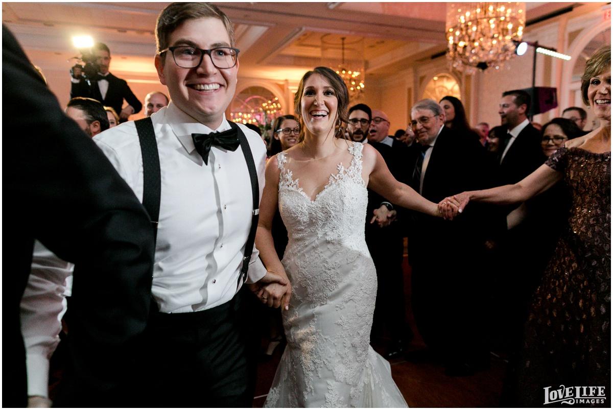 Fairmont DC Wedding reception horah.jpg