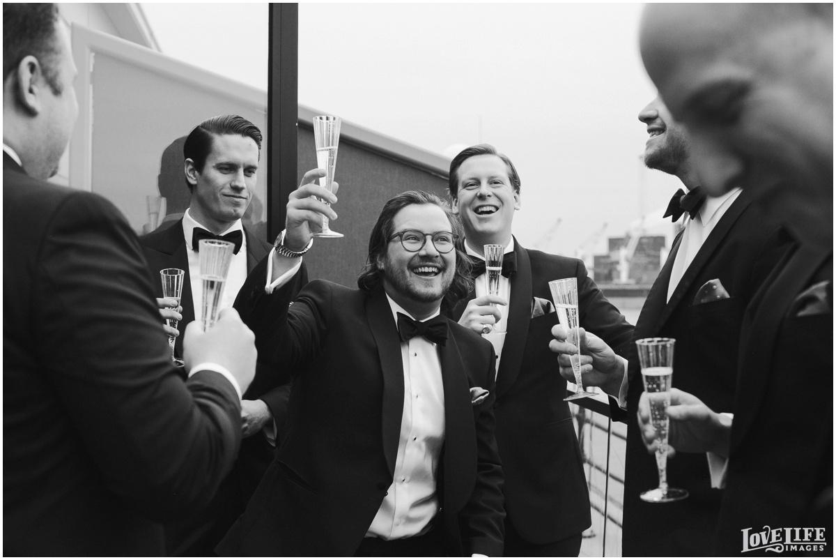 Peabody Library Baltimore Glam Wedding groomsmen toast.jpg