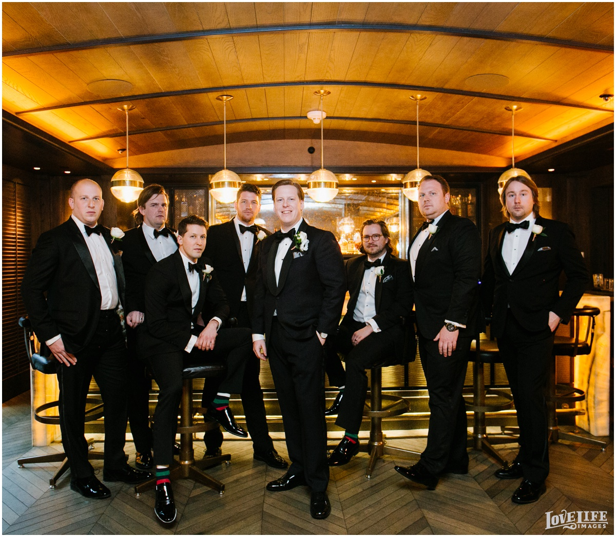 Peabody Library Baltimore Glam Wedding groomsmen.jpg