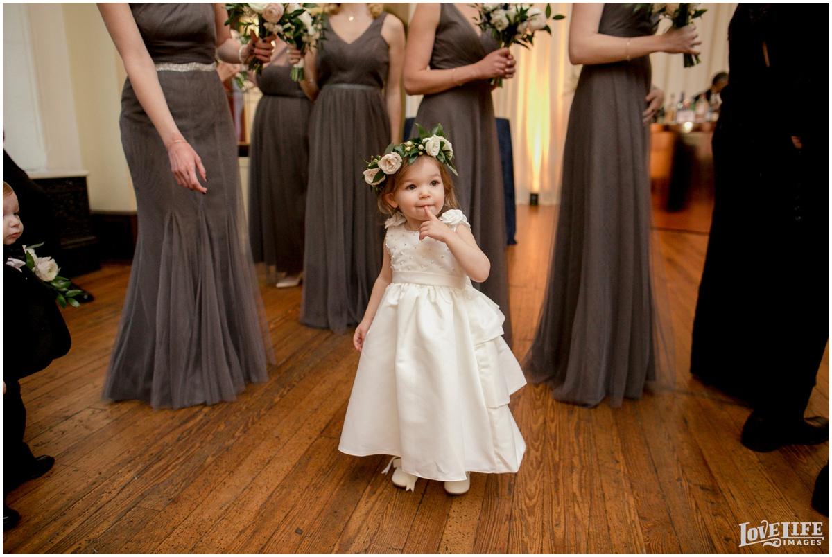Peabody Library Baltimore Glam Wedding flower girl.jpg
