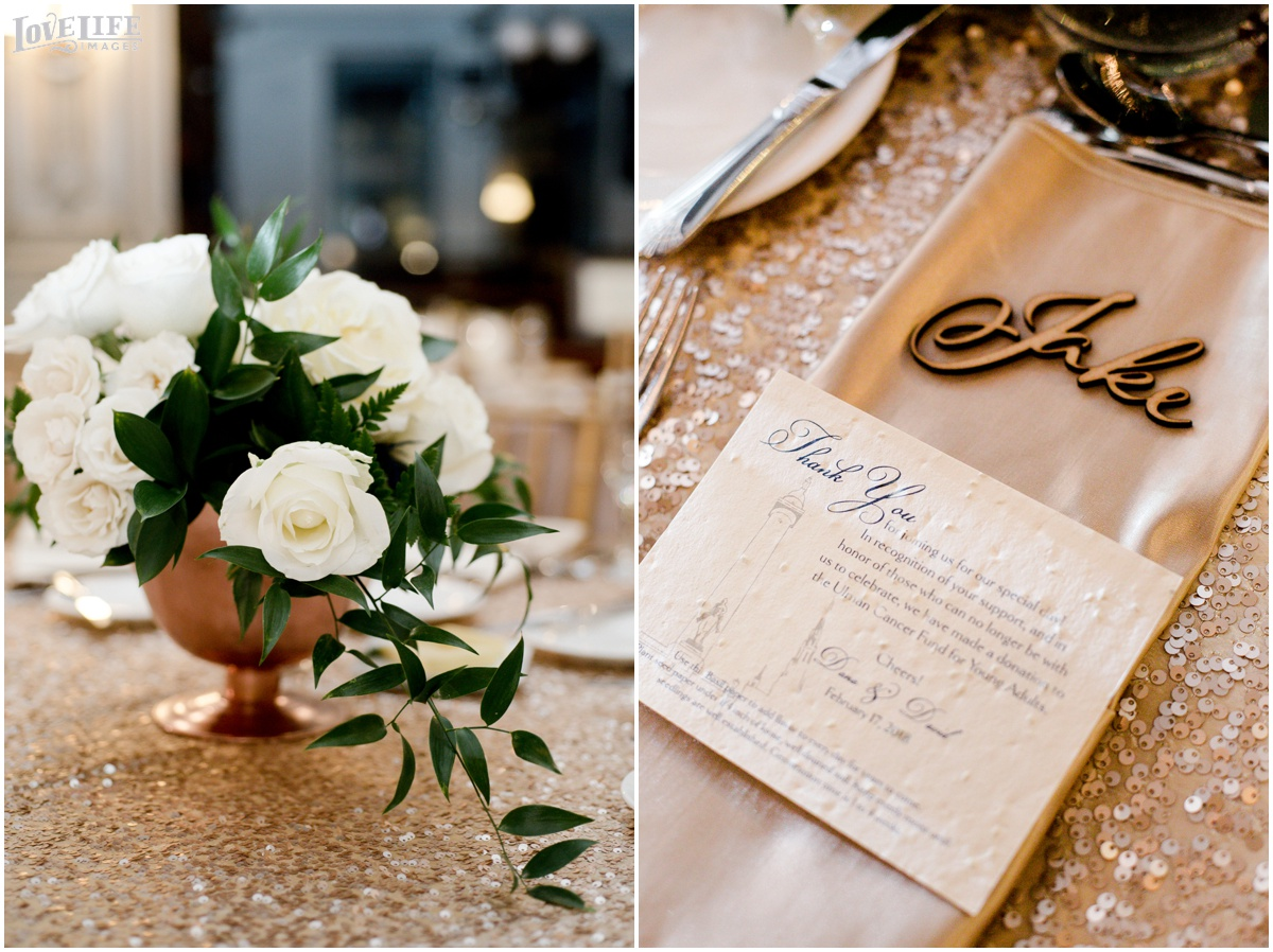 Peabody Library Baltimore Glam Wedding reception placesetting.jpg