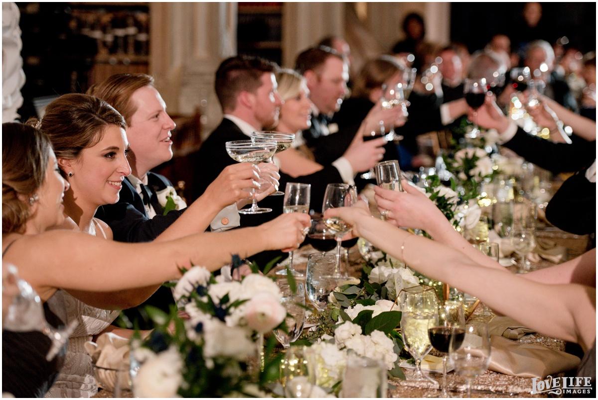 Peabody Library Baltimore Glam Wedding reception toast.jpg