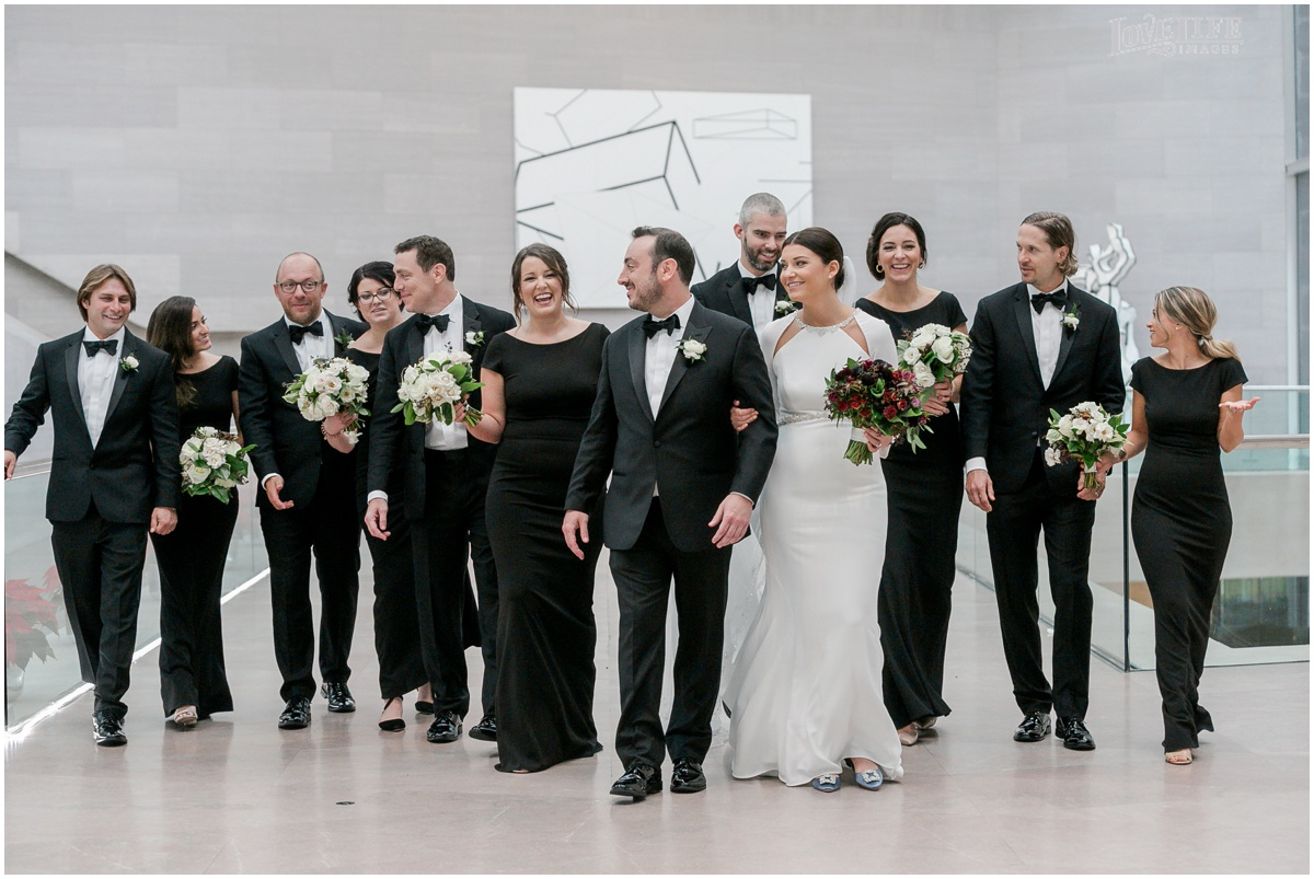Winter District Winery Wedding group photo at national gallery of art.JPG