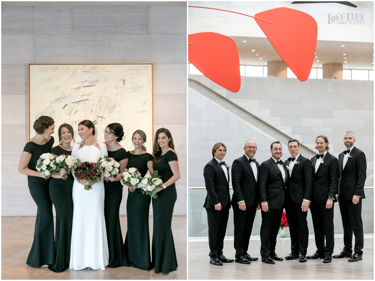 Winter District Winery Wedding bridesmaids and groomsmen portraits.JPG