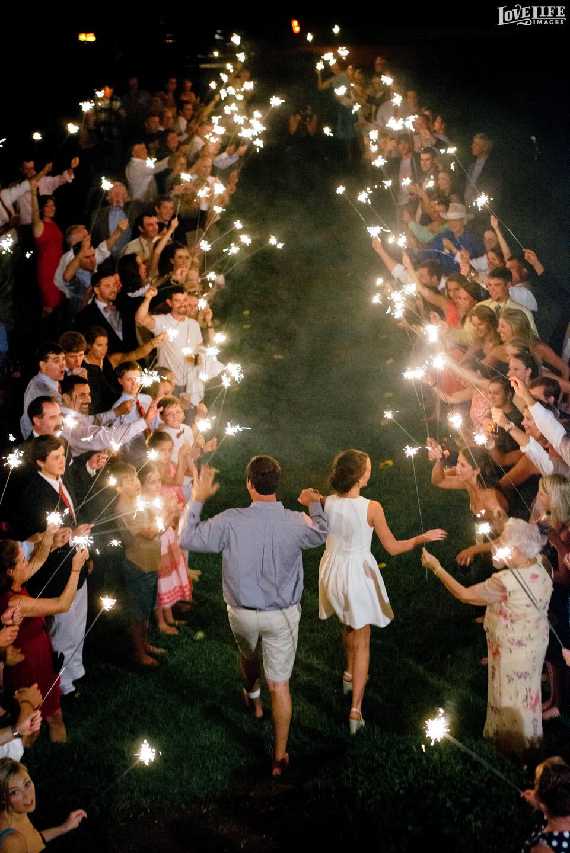 Washington DC and Baltimore Wedding Photographer Sparkler Exit GuestsA.JPG
