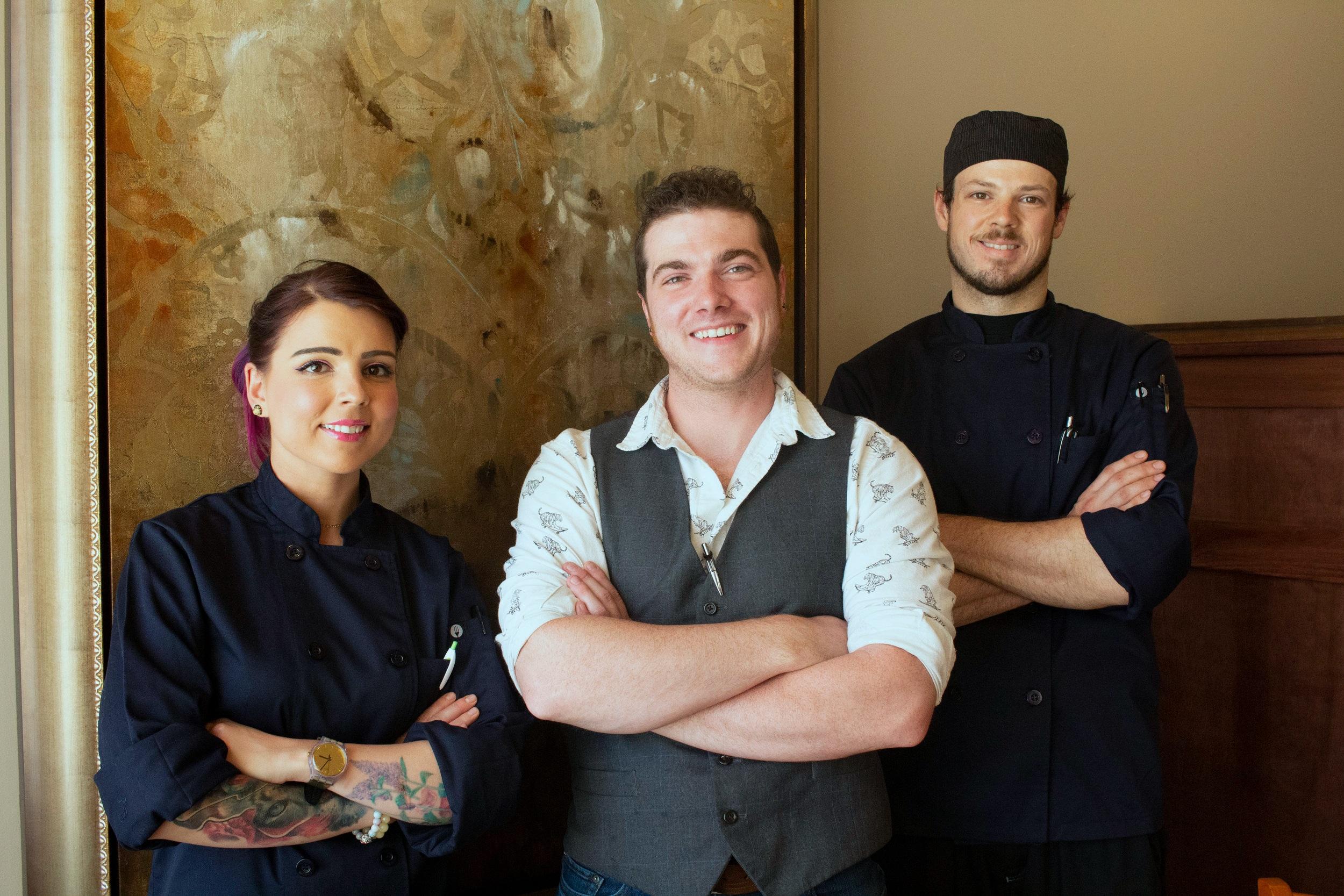 Meet the Team - Joel Kane, General ManagerAnthony Valvoda, Executive Partner ChefCamilla Starr, Executive Partner Chef