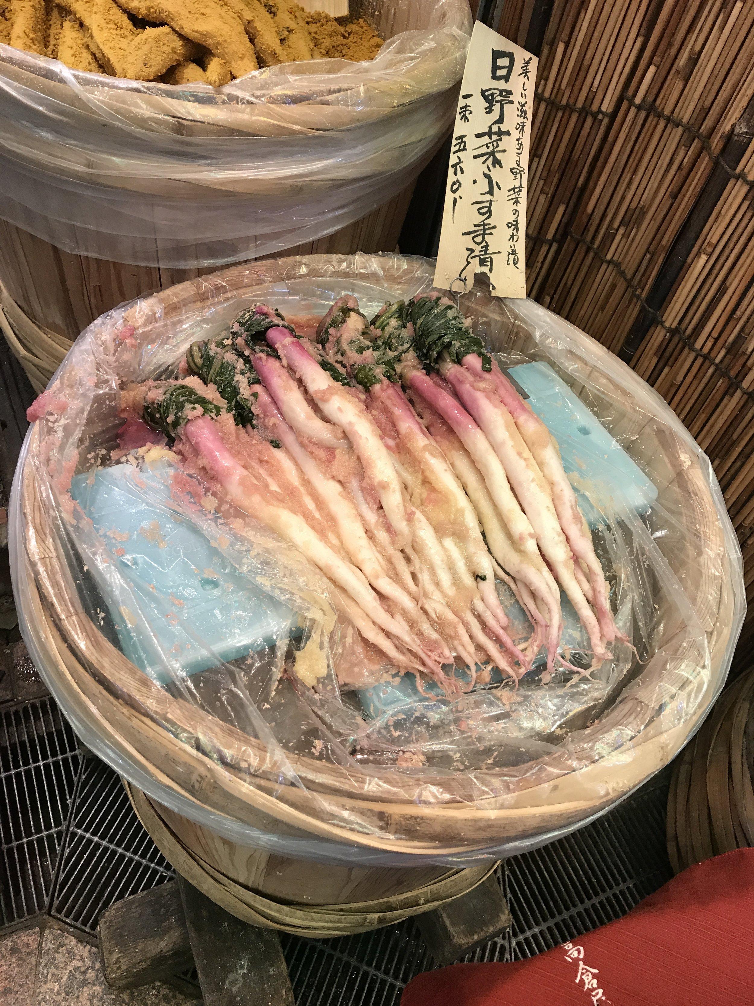 Kyoto food alley