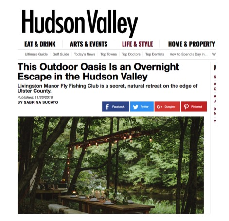 """""""To say that these retreats at Livingston are appealing would be an understatement."""" - - Hudson Valley Magazine"""