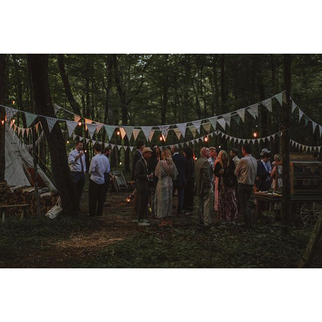 There's magic in these woods. #weddinginthewild 📷: @pbcrosby