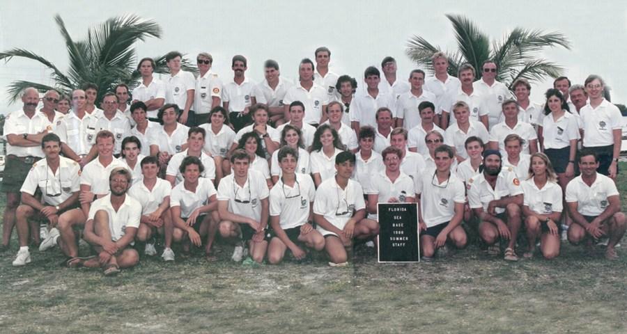 1988 Summer Staff