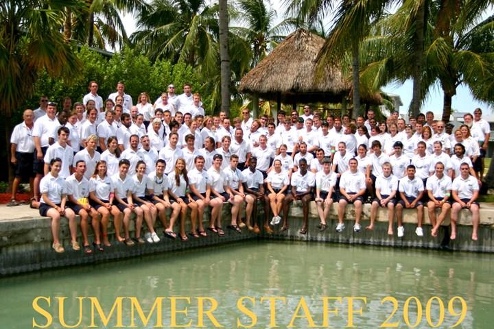 2009 Summer Staff