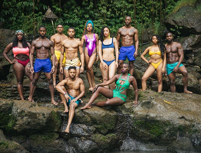 Chasing waterfalls with the crew. Special shout out to my best friend @apuje for coming up with the Jewel Tone theme for the entire trip! We come from royalty and want to represent that in all of our pictures. 💎💜💙❤️💛#JewelTonesBih