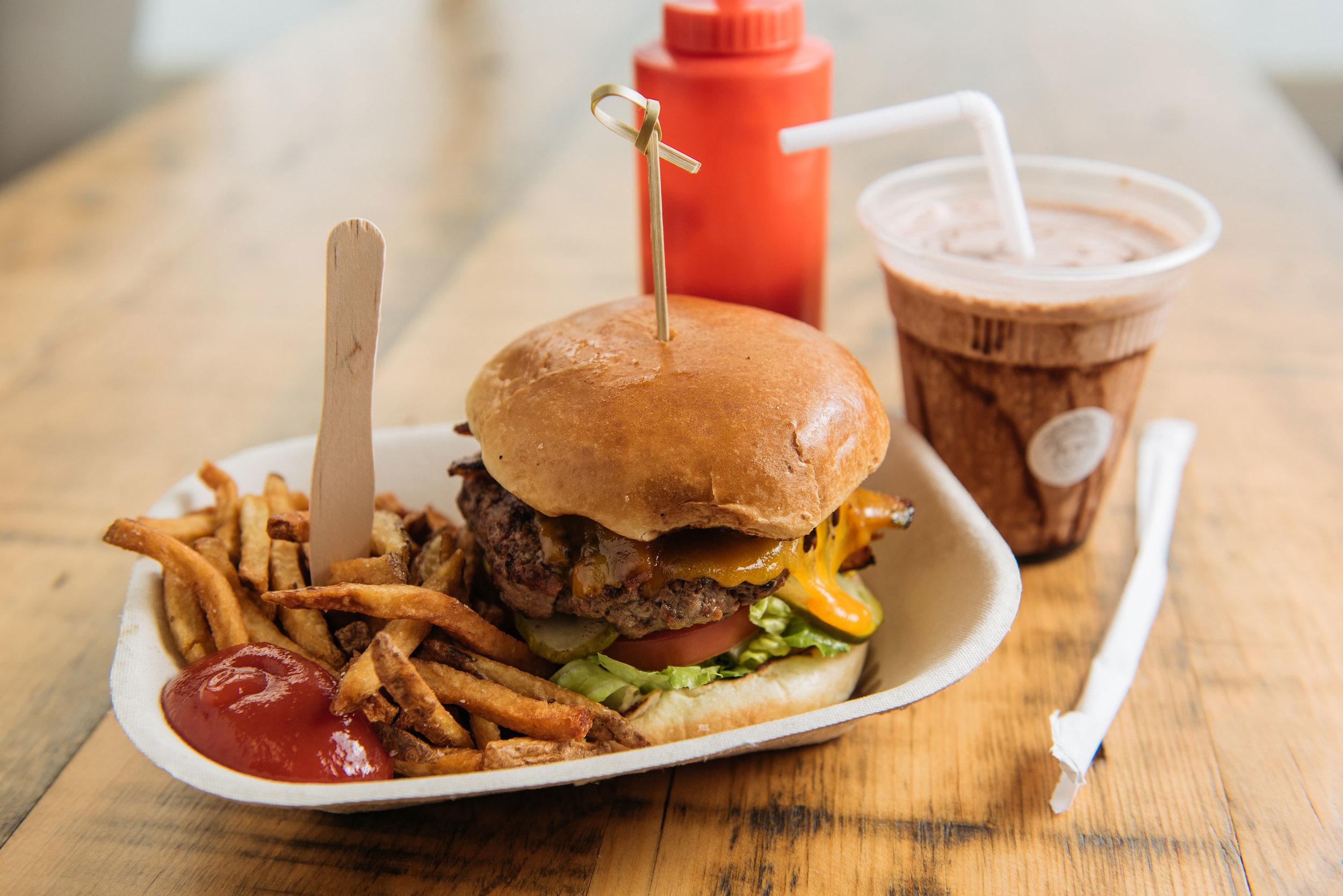 Burgers. Franks. Shakes. - check out our menu
