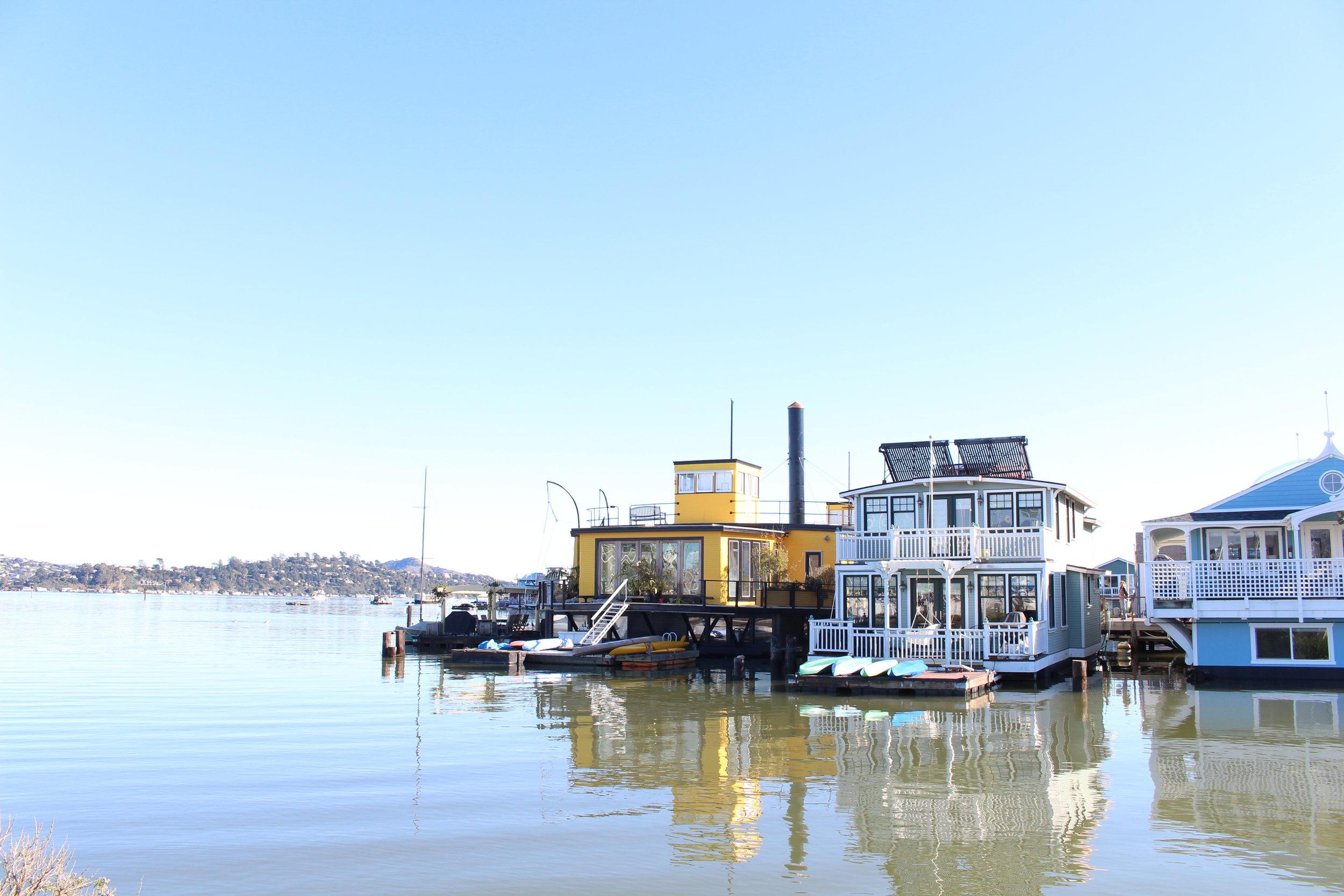 Sausalito_Houseboats