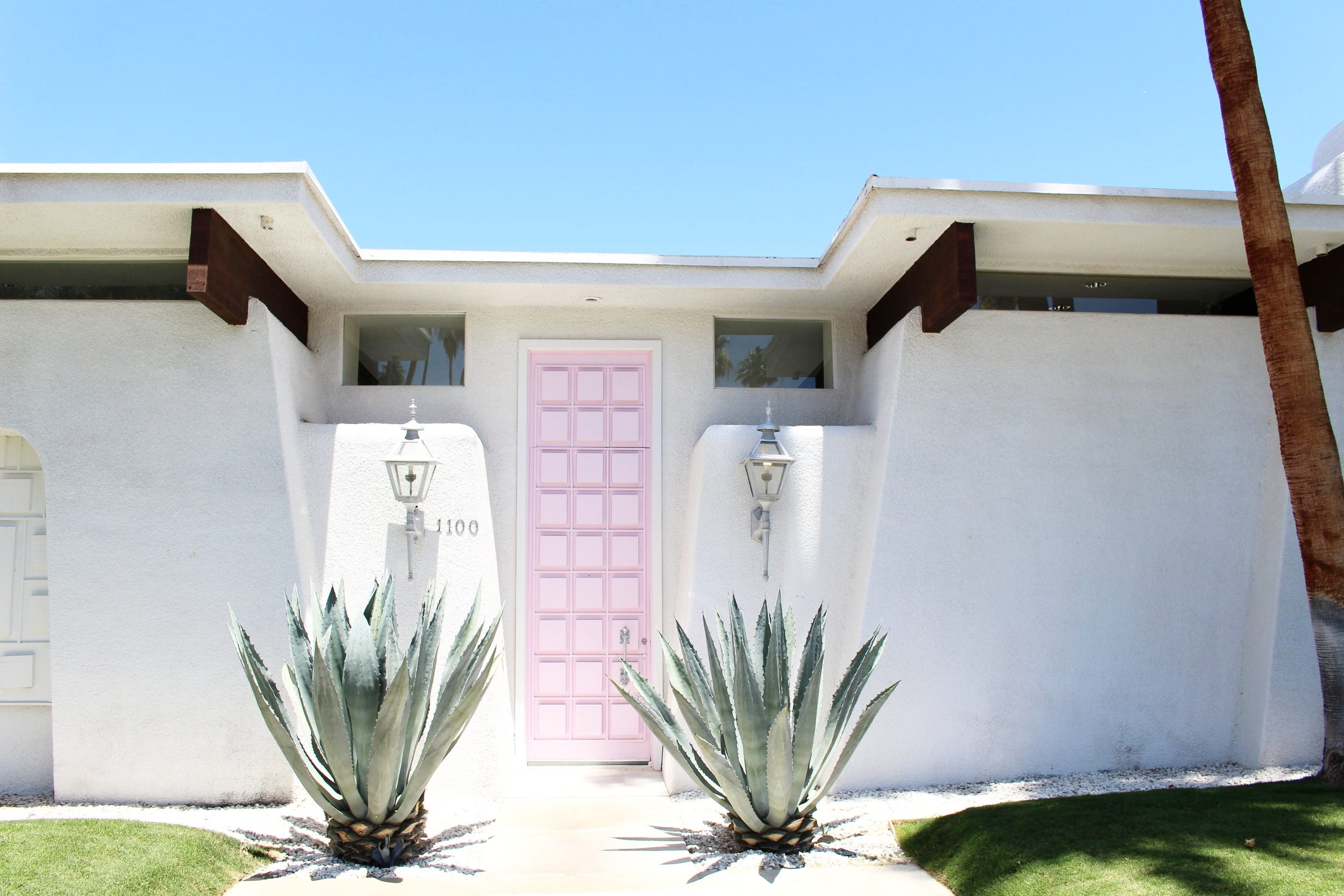 Search #thatpinkdoor on Instagram to see more photos of this house than you could ever want.