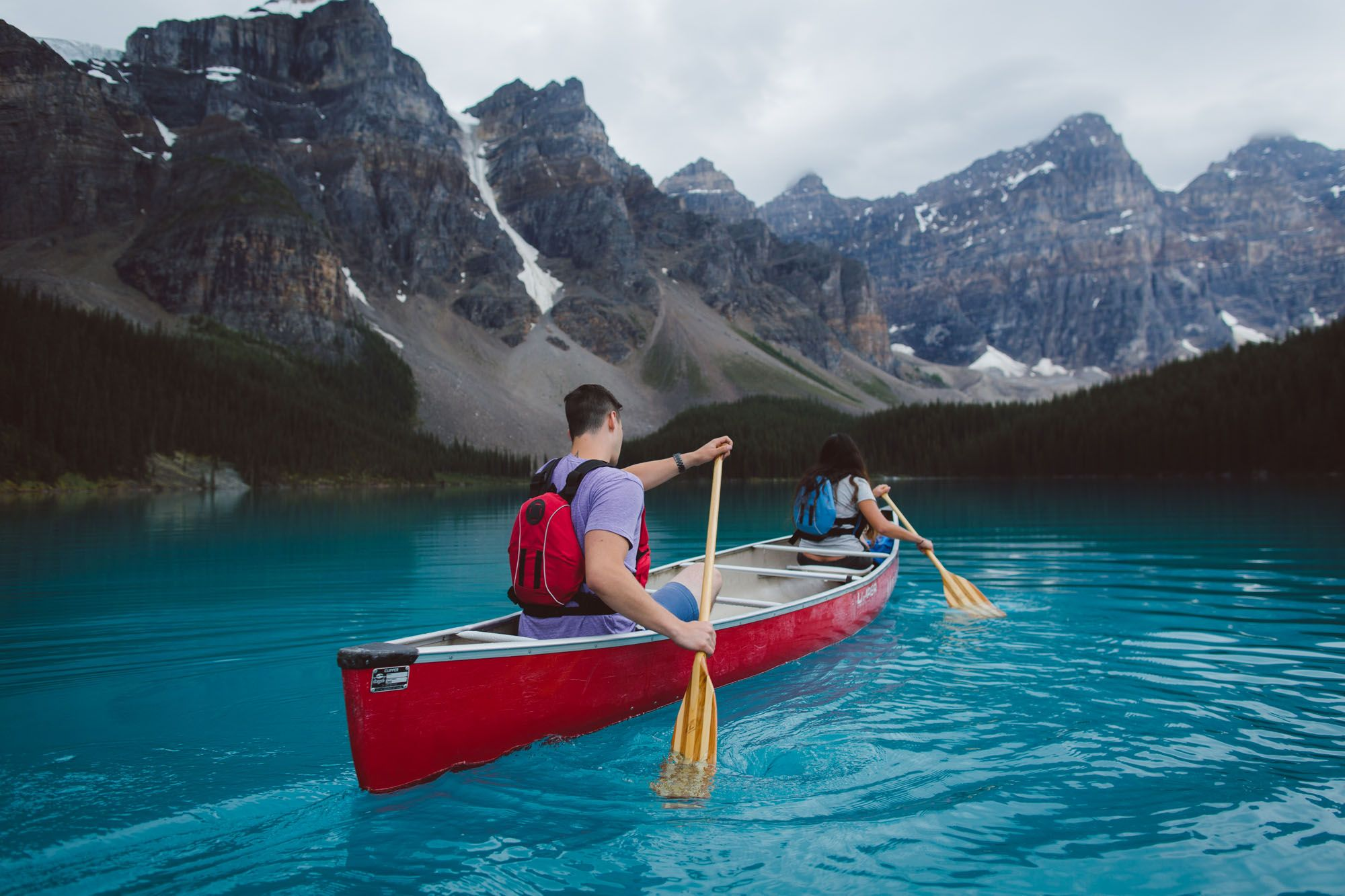 Photo from the Banff Tourism Website--not related to budgeting, but having images like this as my desktop background has been a major budgeting motivator :)