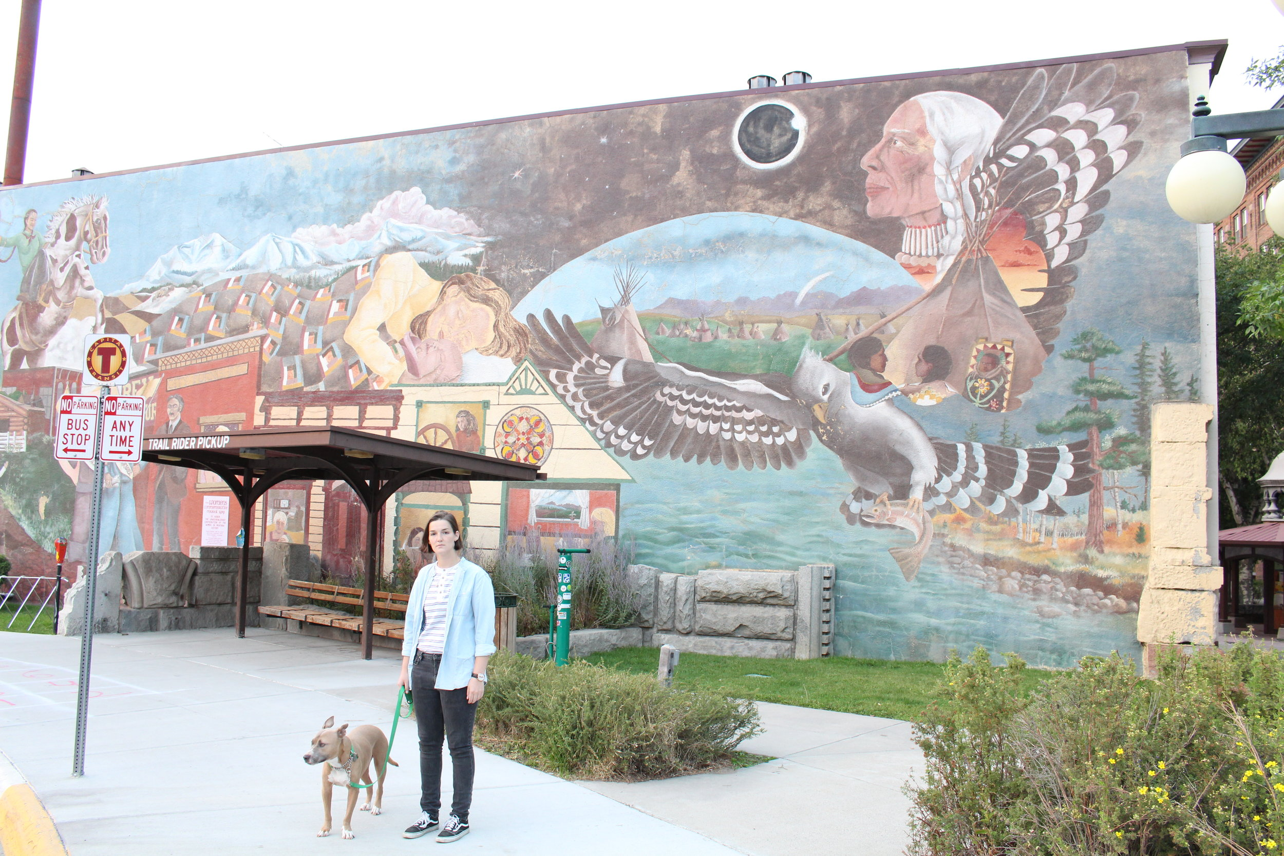 An awesome mural in downtown Helena