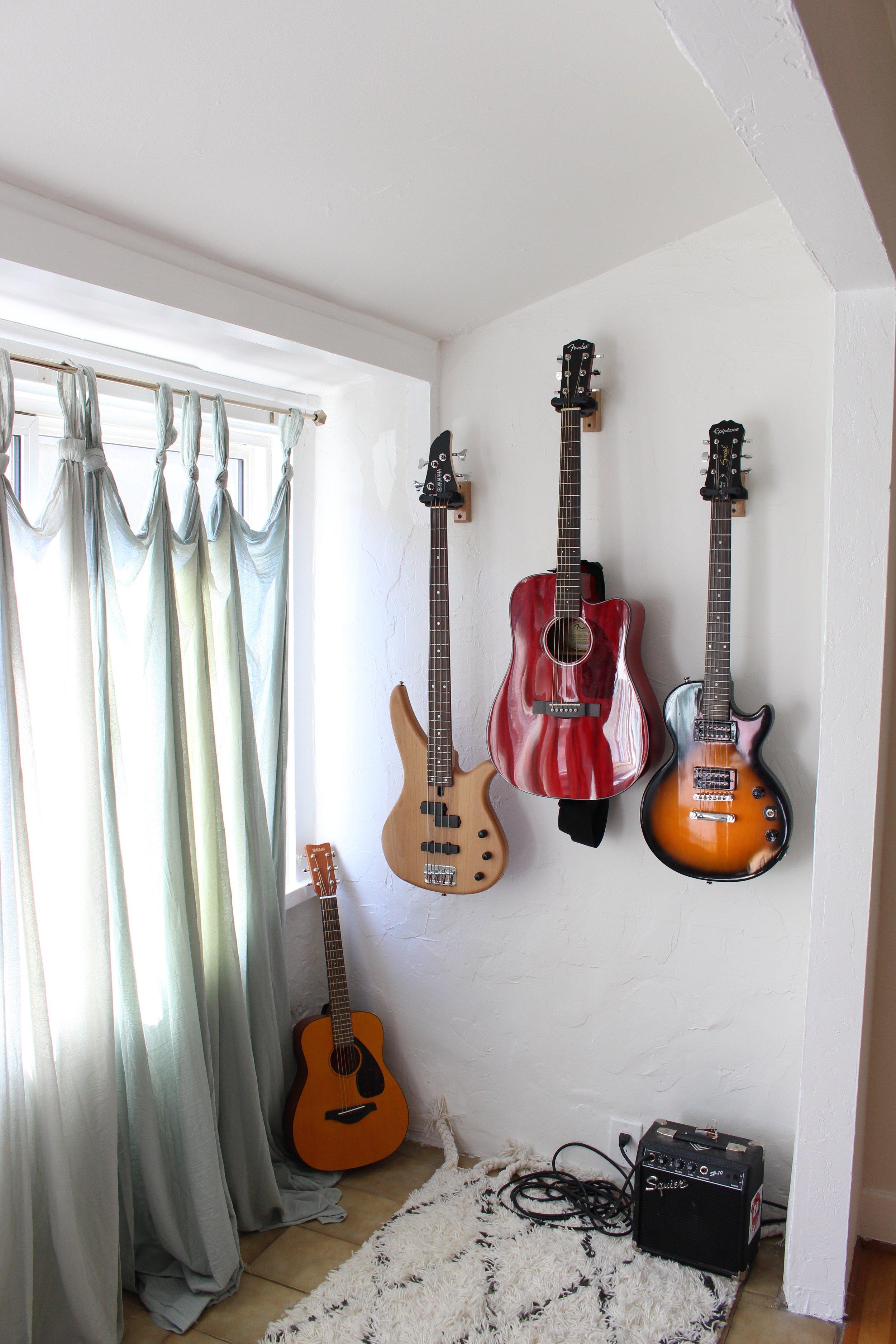 Home Tour_Guitars