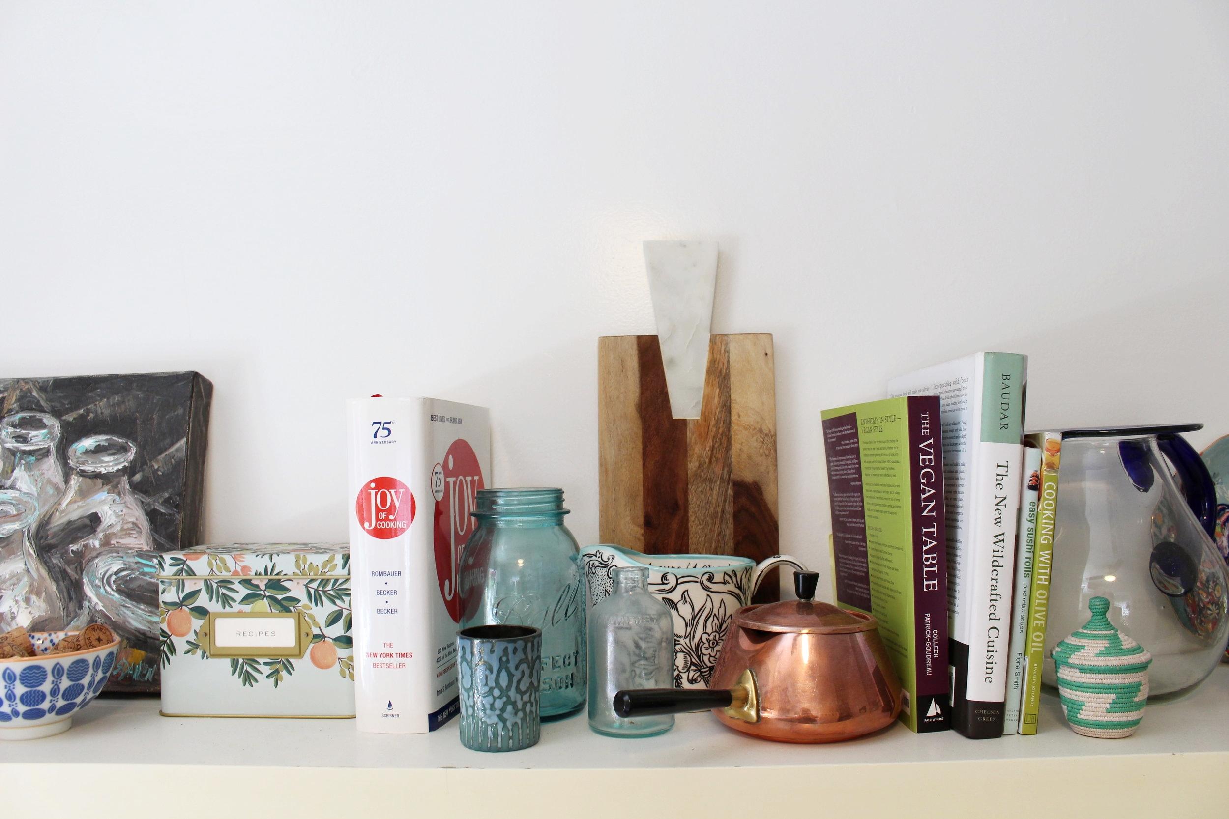 Home Tour_Kitchen Shelf
