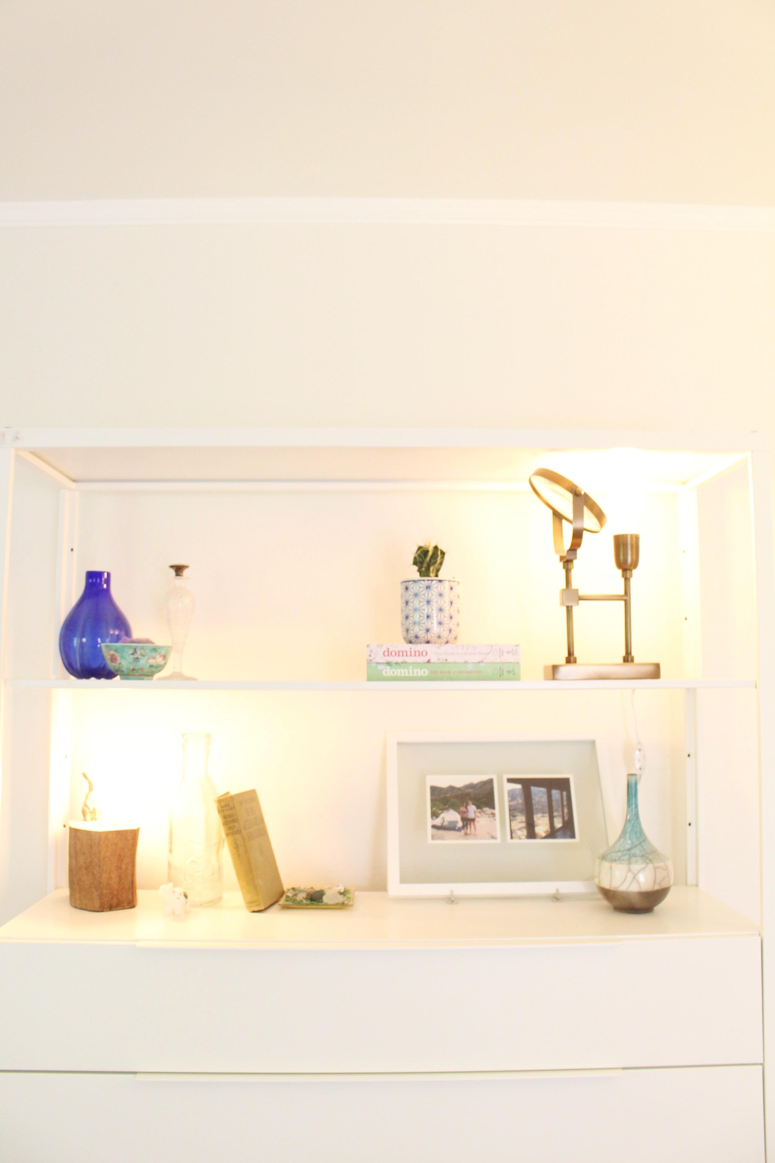 Home Tour_Bedroom Shelves