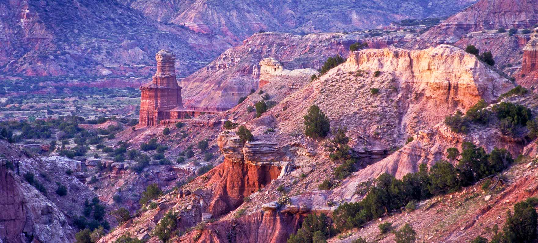 Image via the  Palo Duro Canyon State Park's website