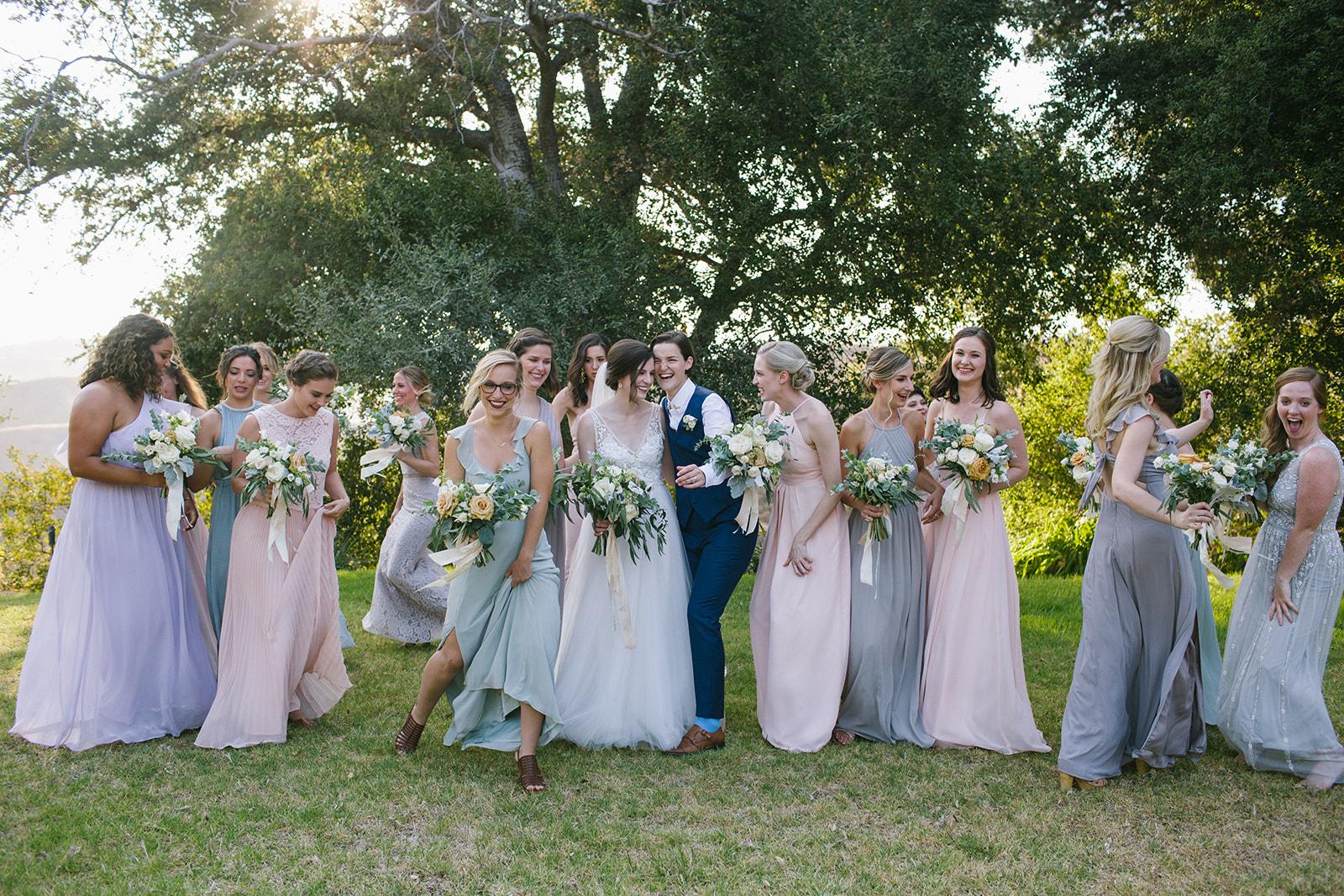 Pink_Blue_Bridesmaids_Dresses