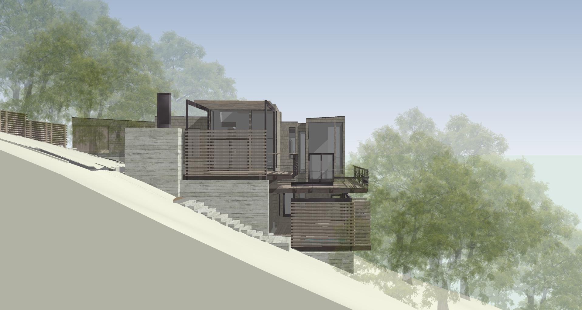 esherick house exterior