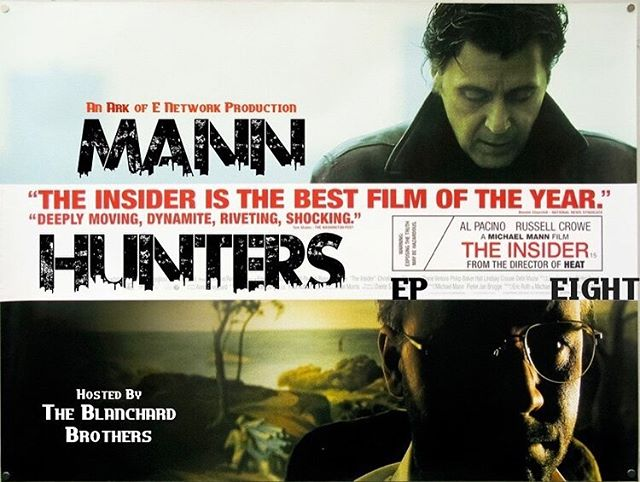 Catch-Up w/ The Latest Episode of #MannHunters where @gingerbeardmann & I discuss @michaelmannofficial 's 1999 Masterpiece #TheInsider ; and prepare to Take On The Champ Tonight @ Midnight as we discuss  one of @willsmith 's best performances in 2001's #Ali #thearkofe #thearkofenetwork #themovieark #podcast #new #episodes #michaelmann #alpacino #russellcrowe #1999 #genre #movie #film #fans