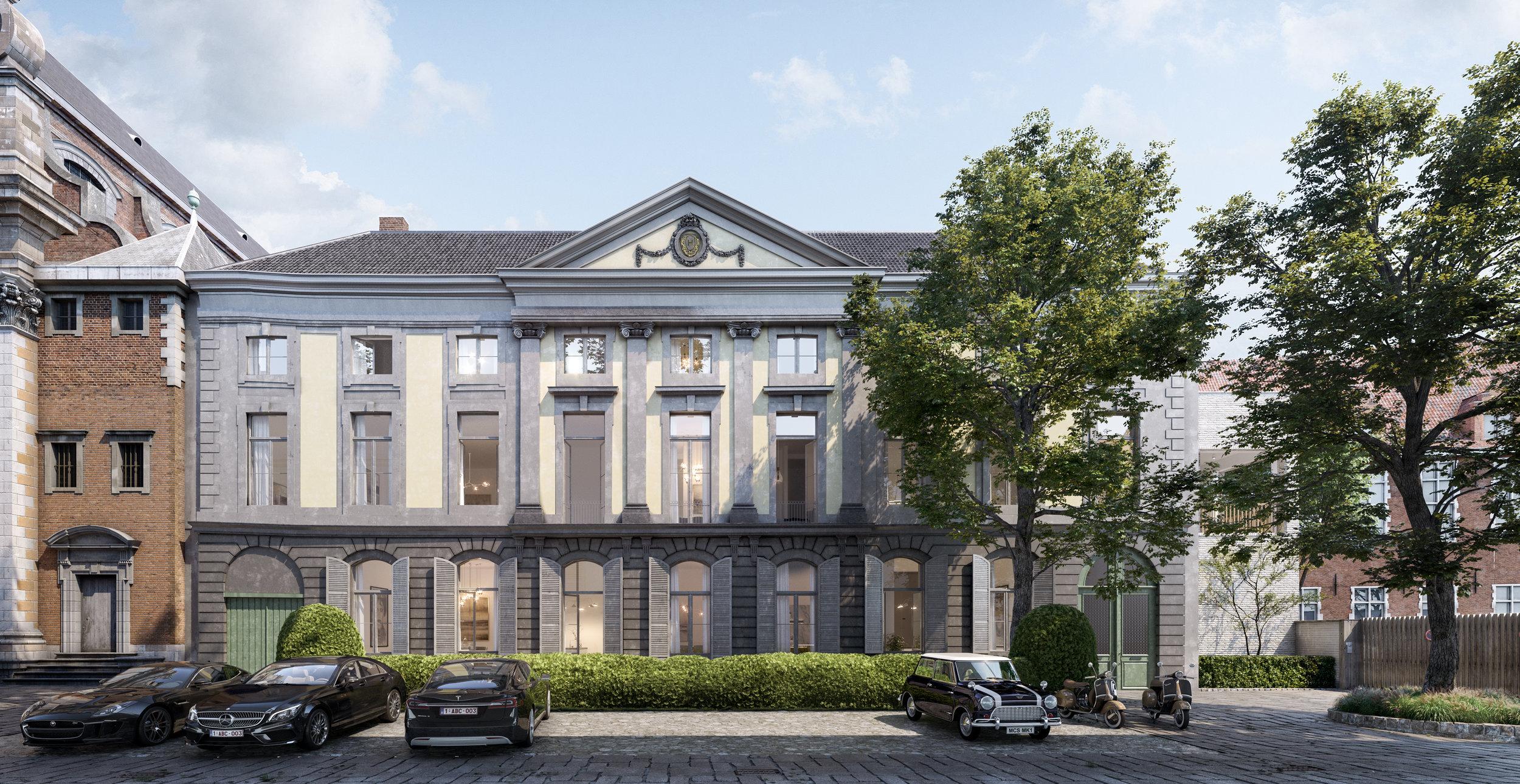 Huis van Hamme - Monumentaal wonen in een stadspaleis