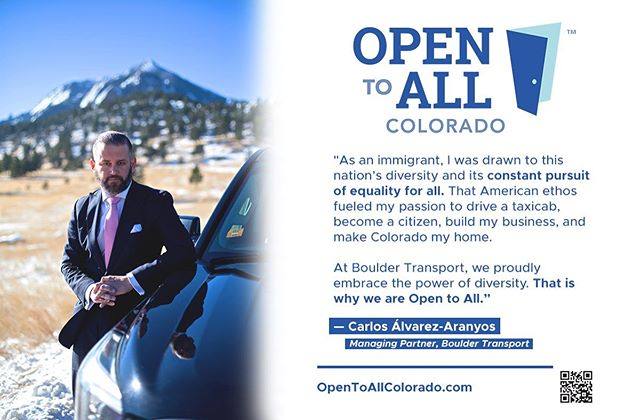 We are proudly #OpenToAll.