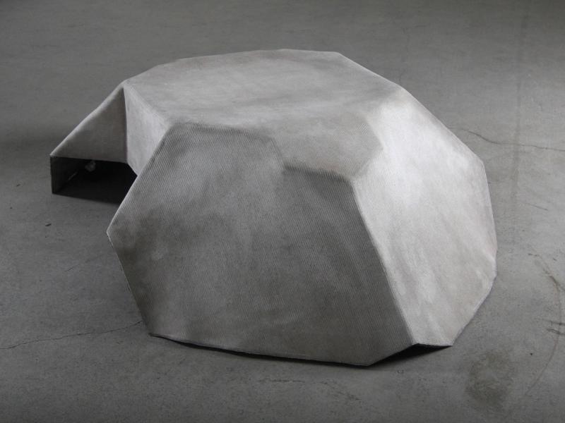 Sruli recht| Plane draped table - Design development & making