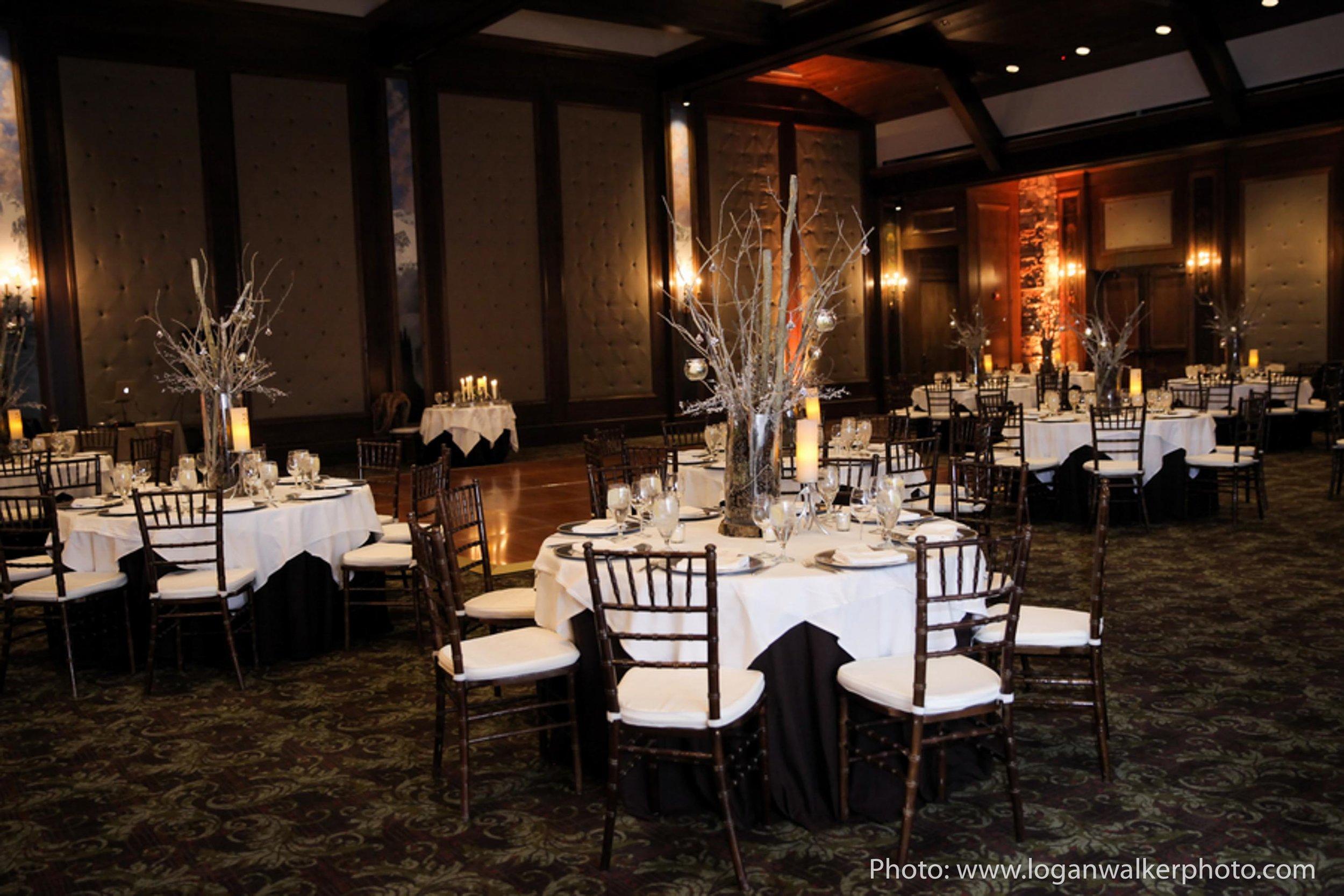 White and Gold Wedding Stein Eriksen Lodge--99.jpg