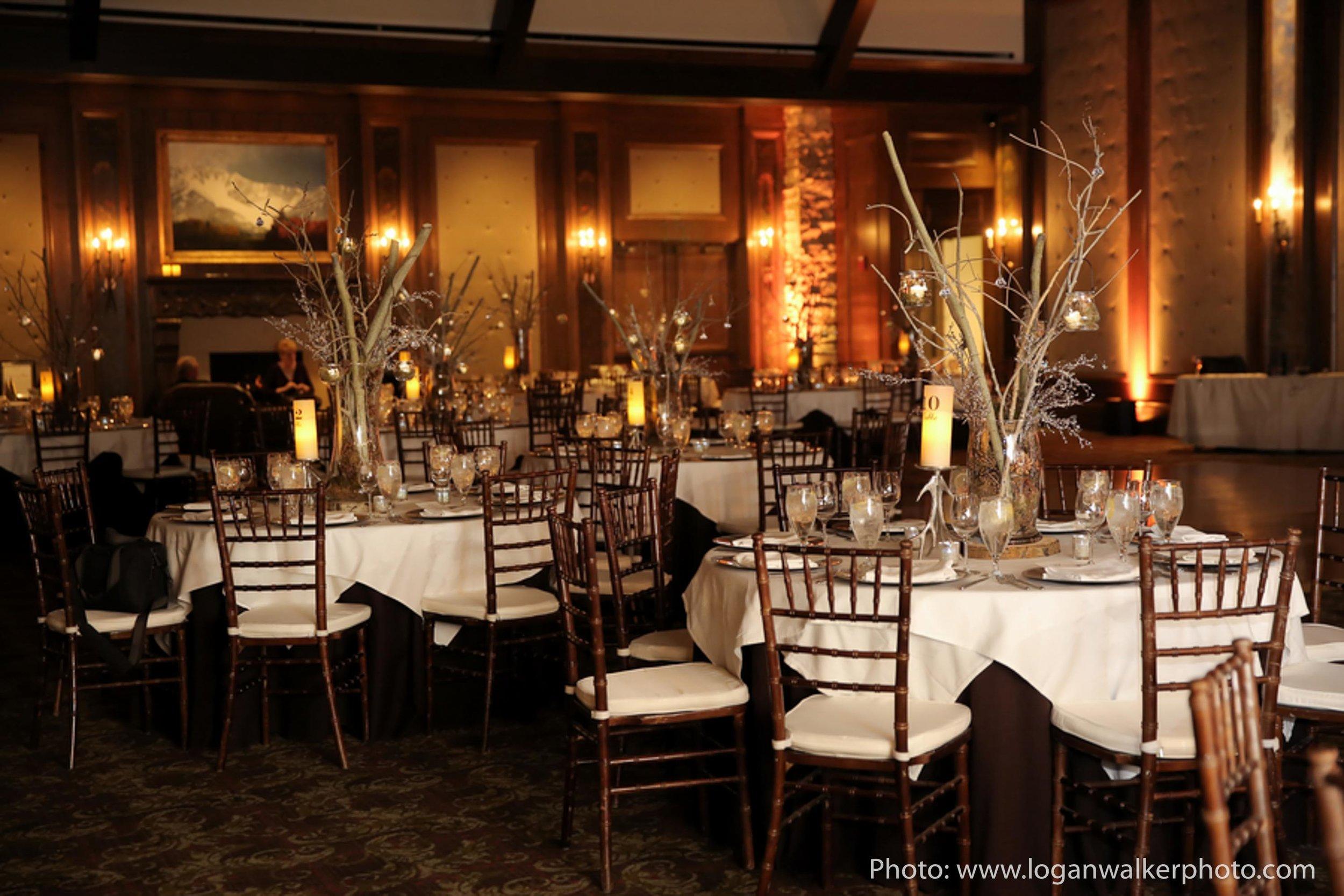 White and Gold Wedding Stein Eriksen Lodge--105.jpg