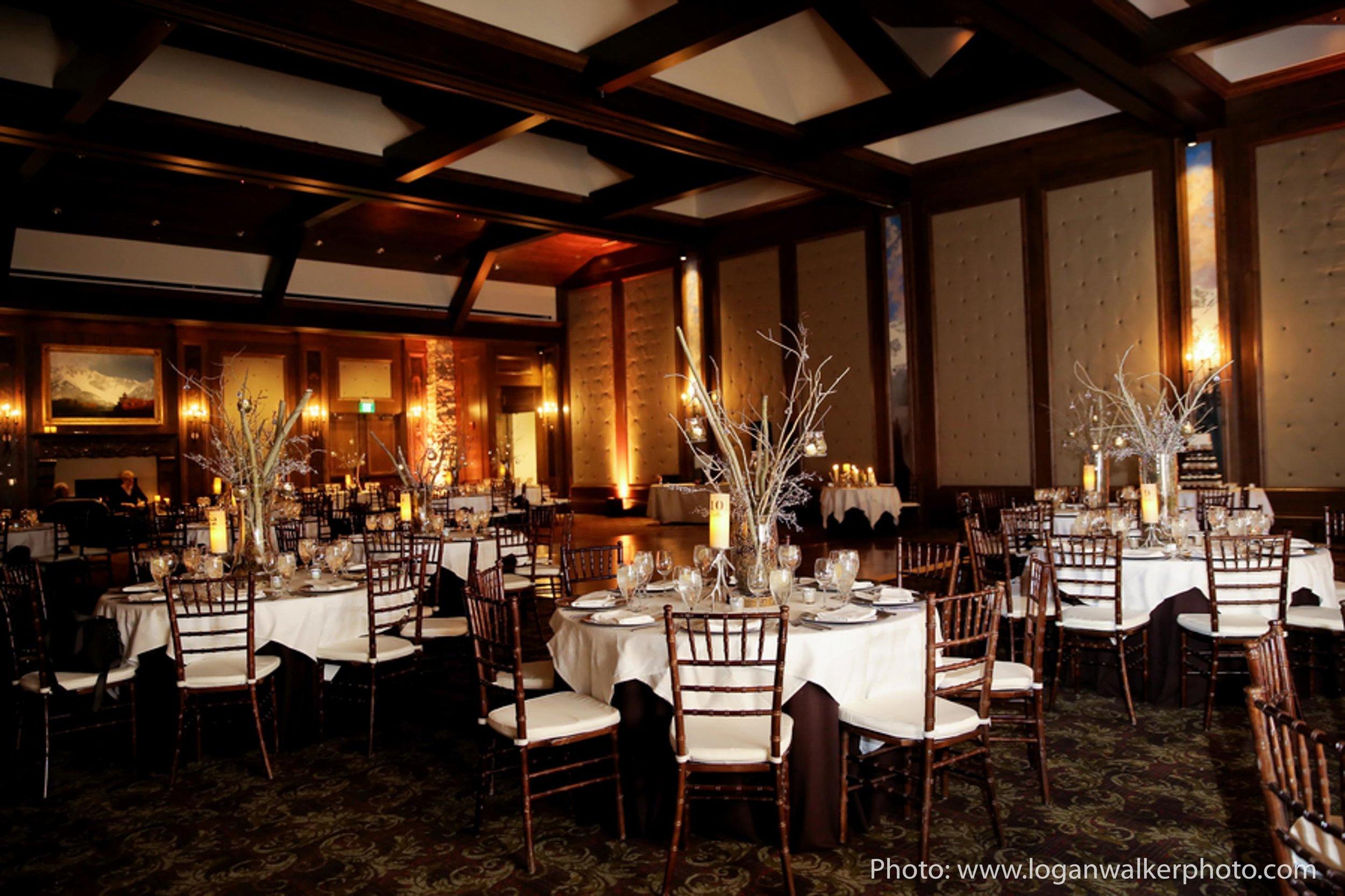 White and Gold Wedding Stein Eriksen Lodge--107.jpg