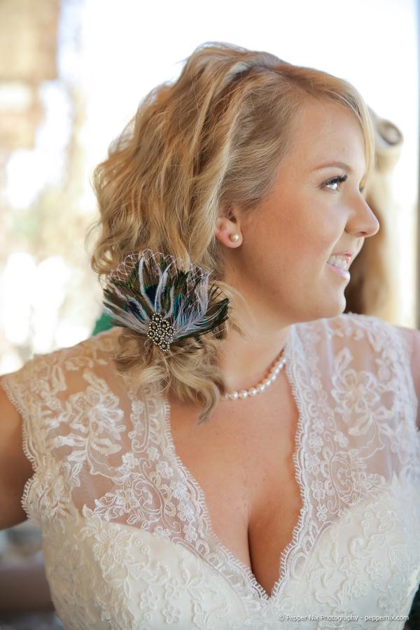 Mindy & Destin on Mountainside Bride -